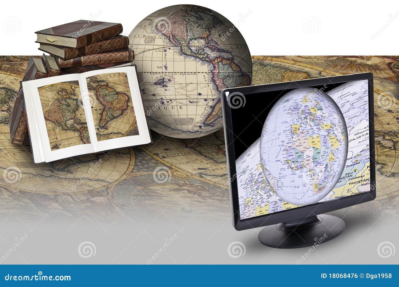 Mapa e tecnologia
