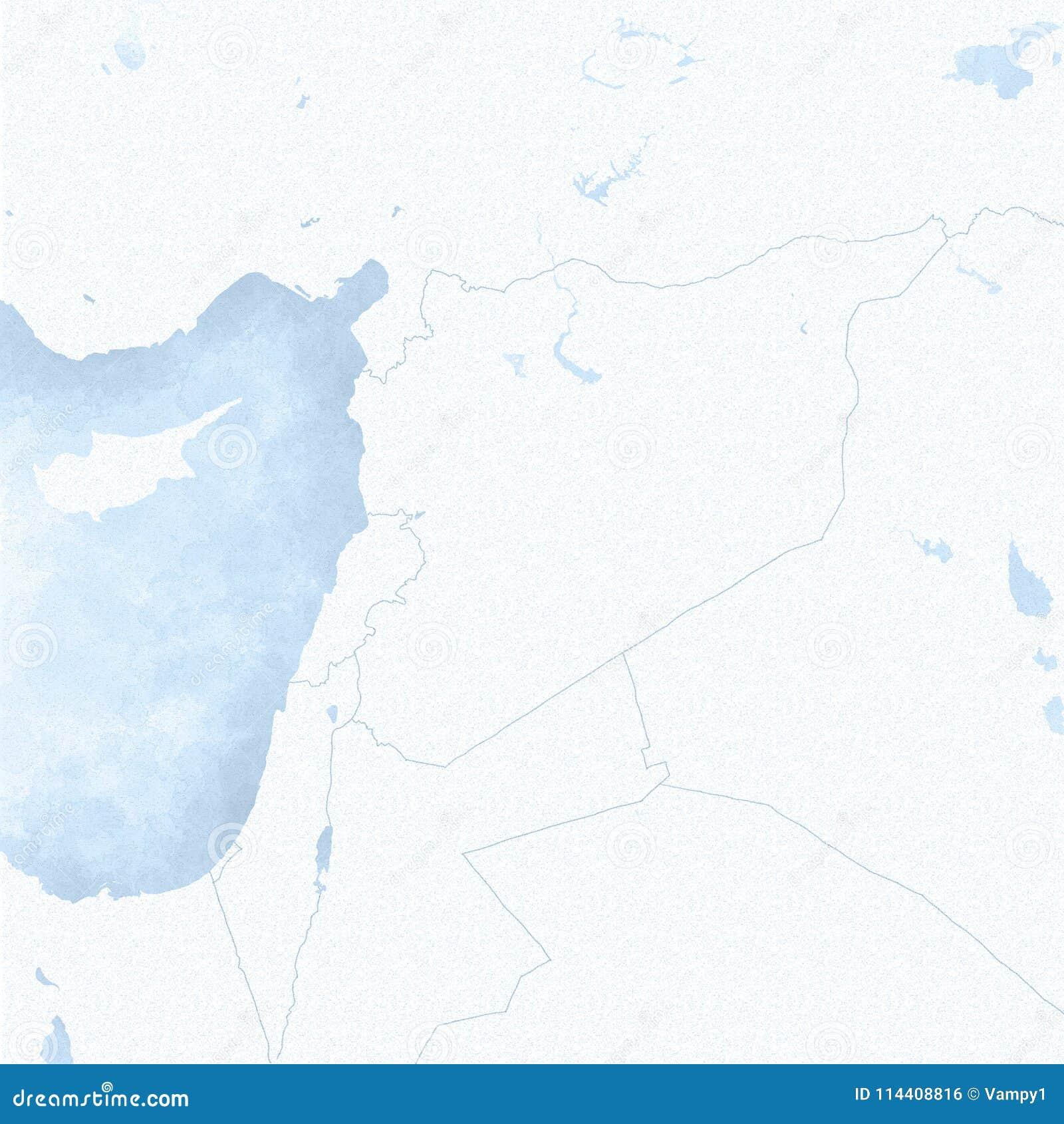 Mapa Fizyczna Mapa Srodkowy Wschod Polwysep Arabski Mapa Z