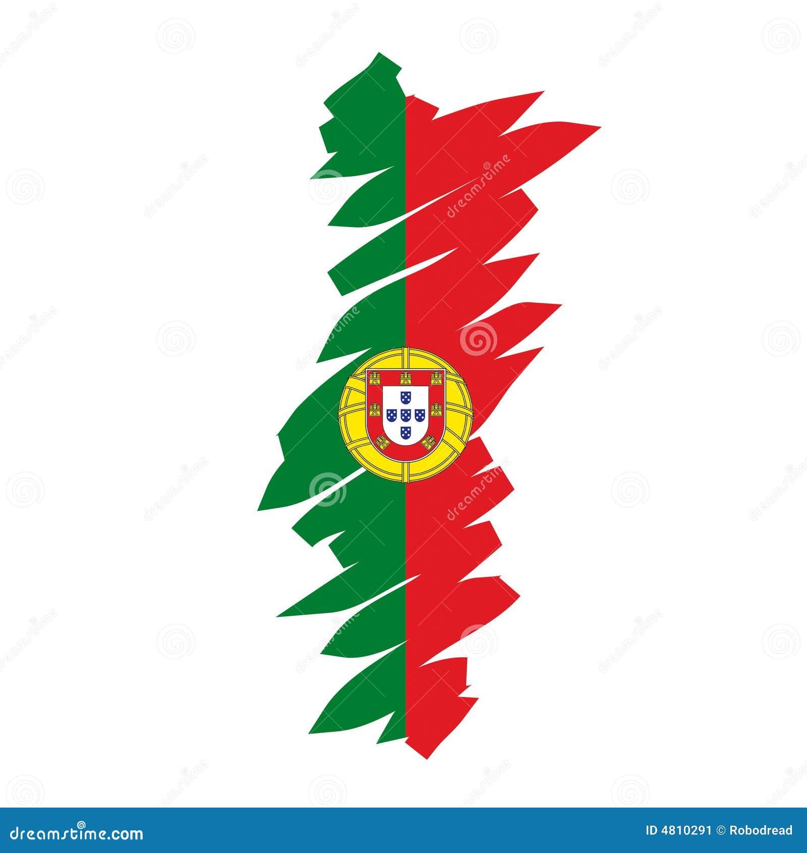 mapa de portugal em desenho Mapa Portugal do vetor ilustração do vetor. Ilustração de retrato  mapa de portugal em desenho