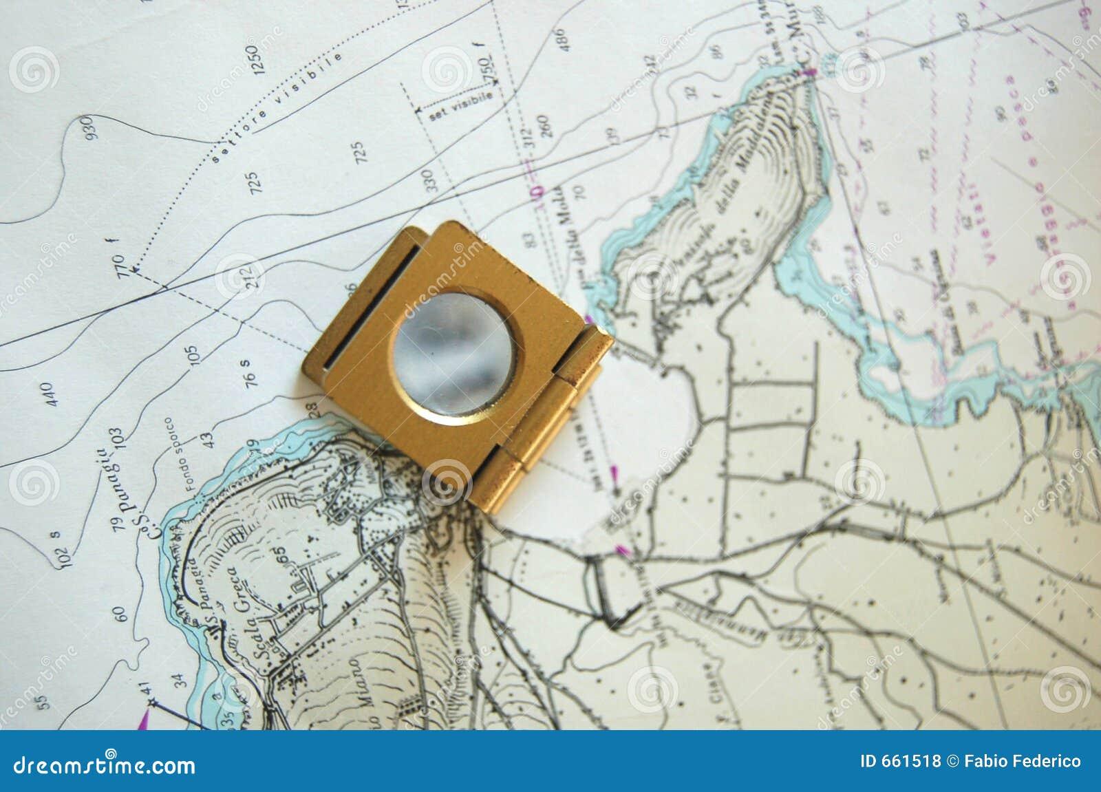 Mapa powiększone widok