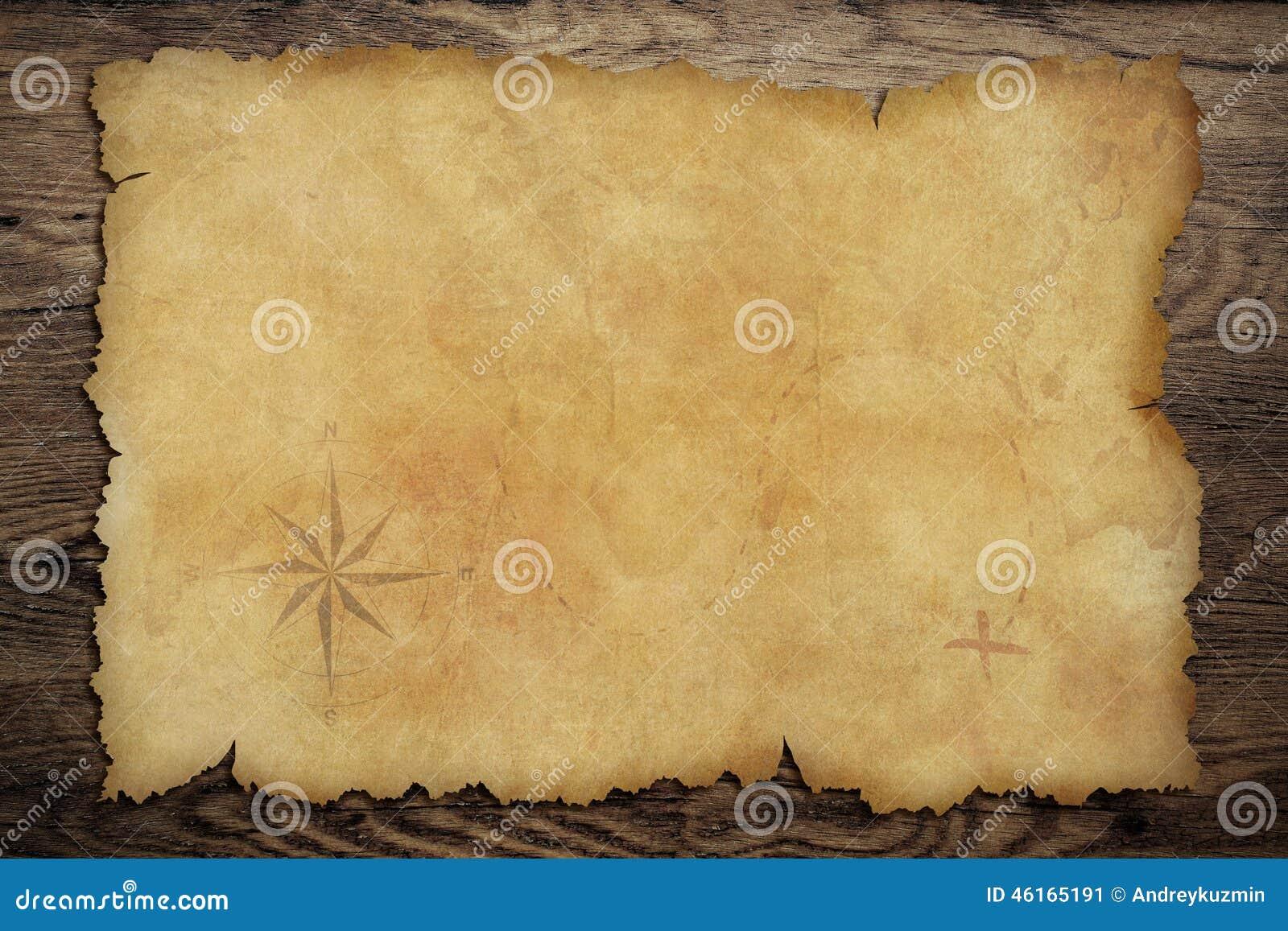 Magnífico Plantilla De Mapa Pirata Componente - Colección De ...