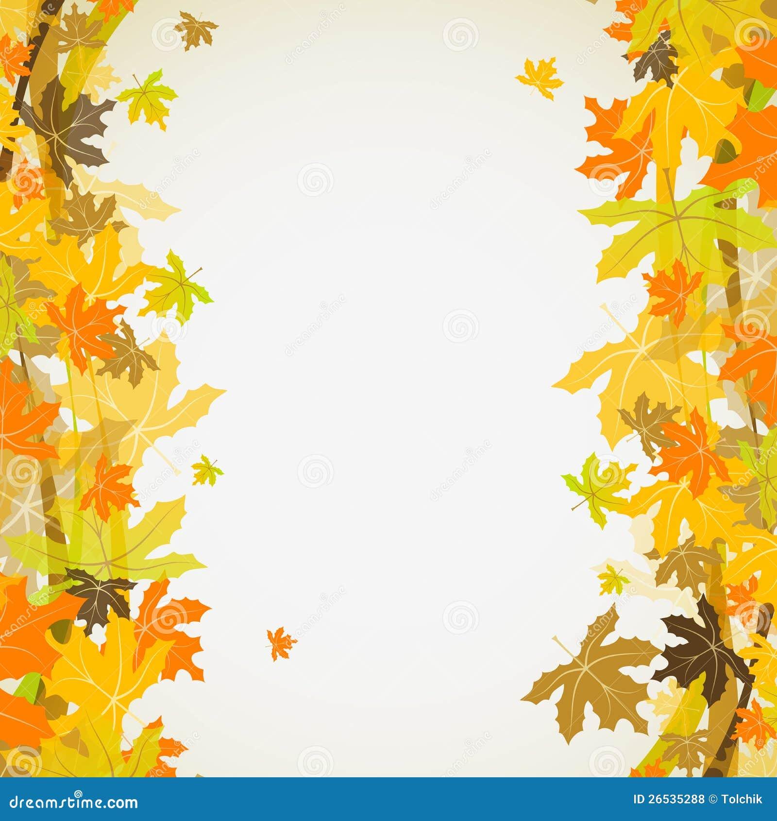 Maple autumn background vector royalty free stock photos image
