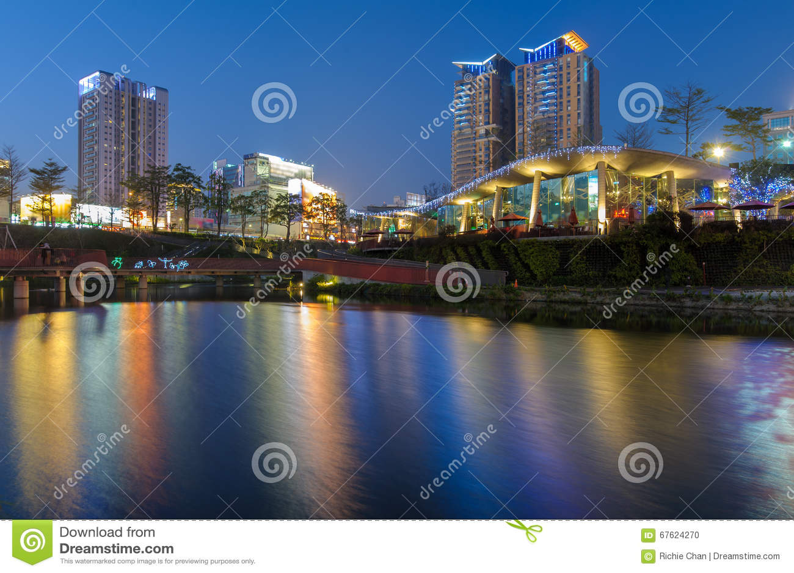 Maple garden in taichung city