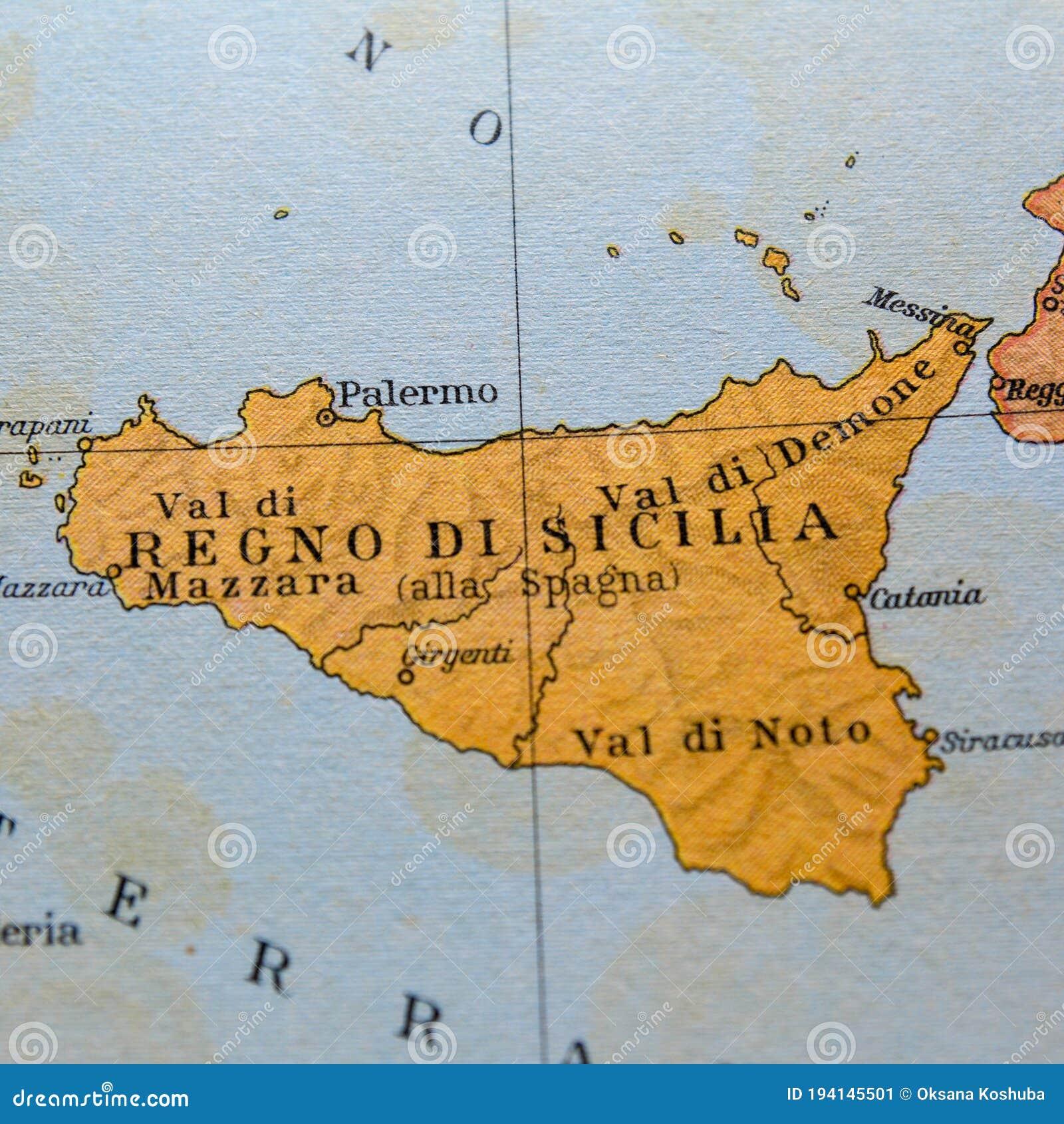 Cartina Sicilia Antica.468 Mappa Della Sicilia Foto Foto Stock Gratis E Royalty Free Da Dreamstime