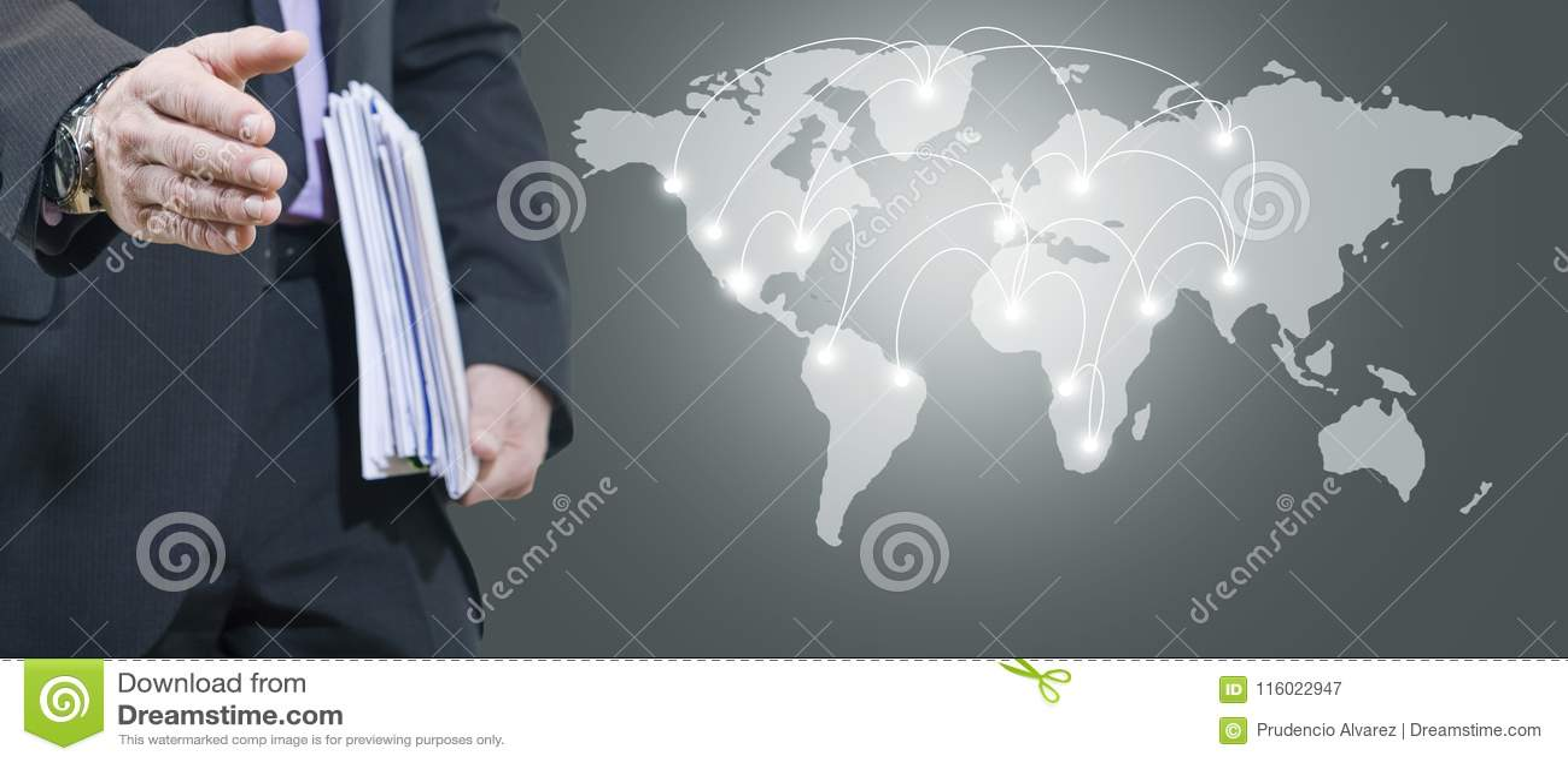 Mappa dell internazionale e dell uomo