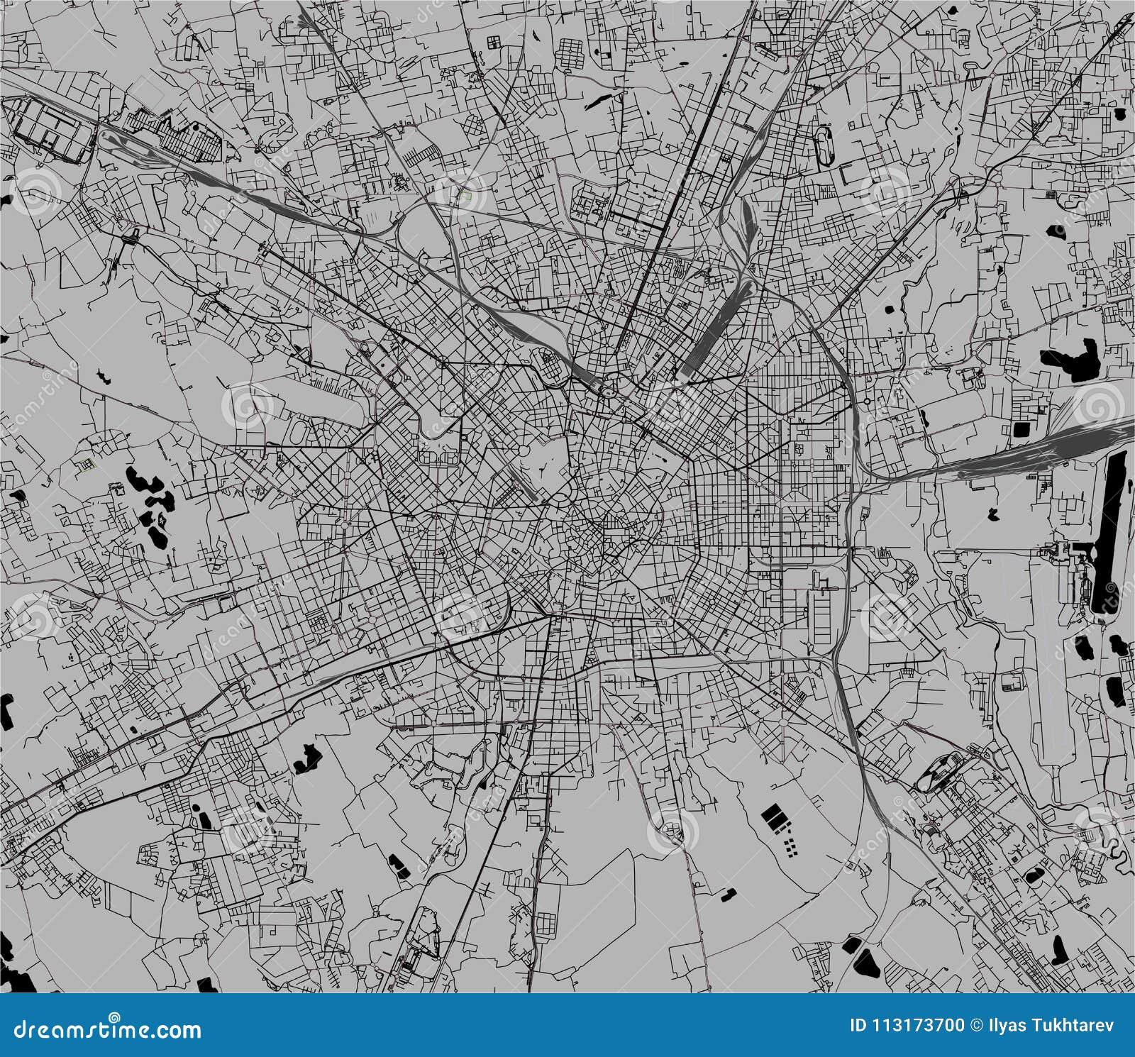 Cartina Dettagliata Lombardia.Mappa Della Citta Di Milano Capitale Della Lombardia Italia Illustrazione Vettoriale Illustrazione Di Paese Europa 113173700