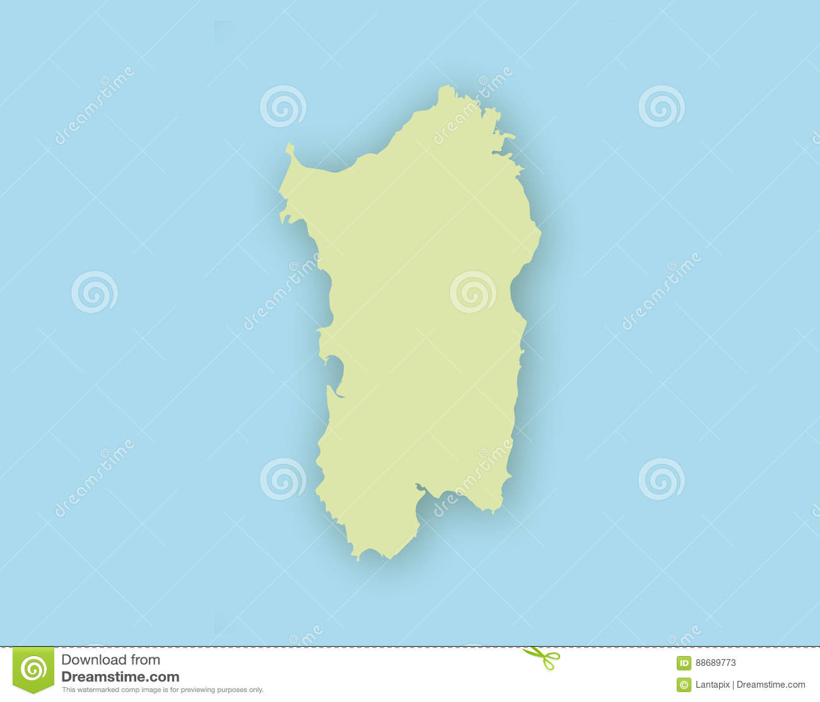 Cartina Sardegna Vettoriale.Mappa Della Sardegna Con Ombra Illustrazione Vettoriale Illustrazione Di Icona Vettore 88689773