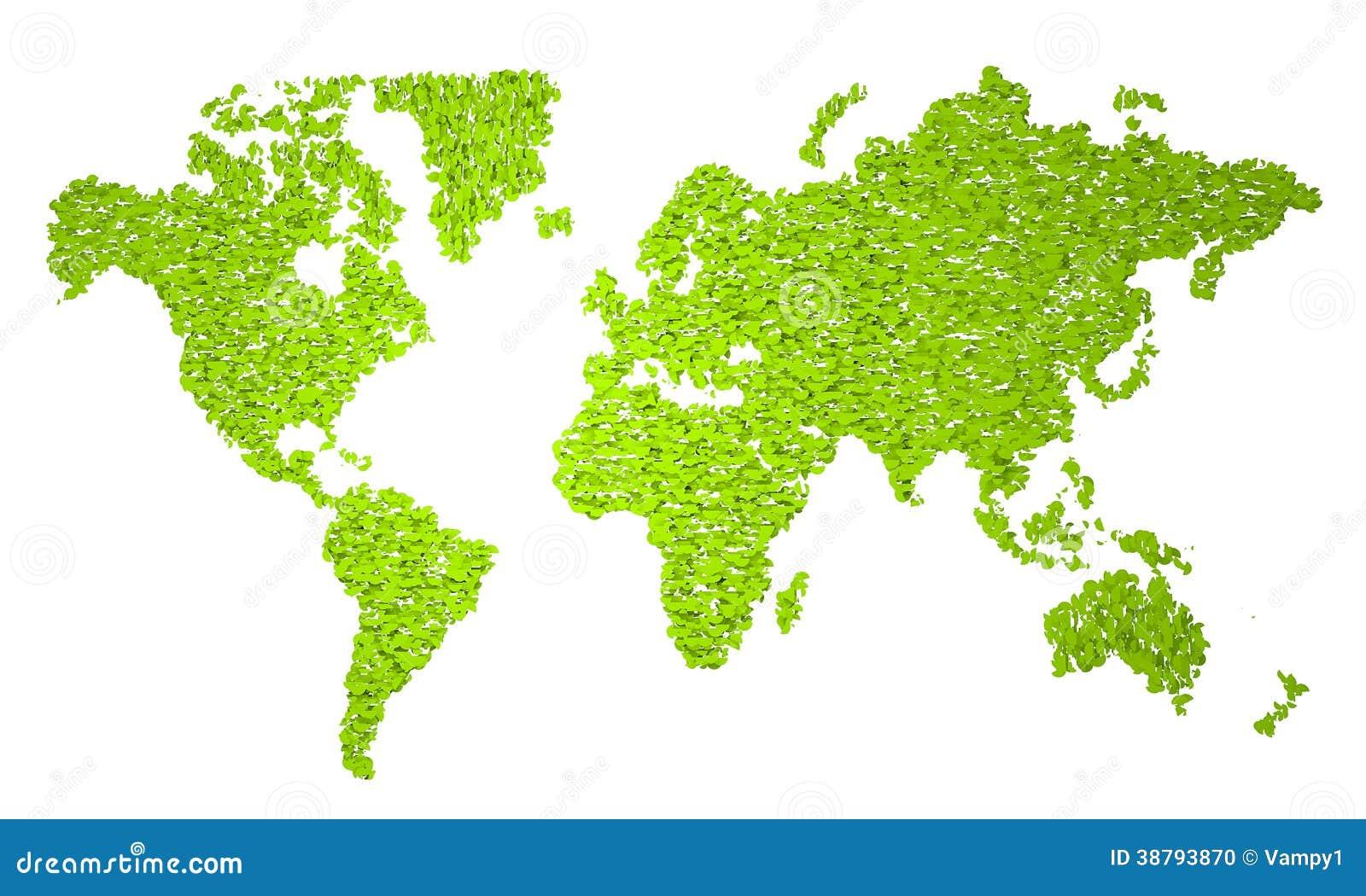 mappa di mondo  mappa stilizzata  semicerchi verdi