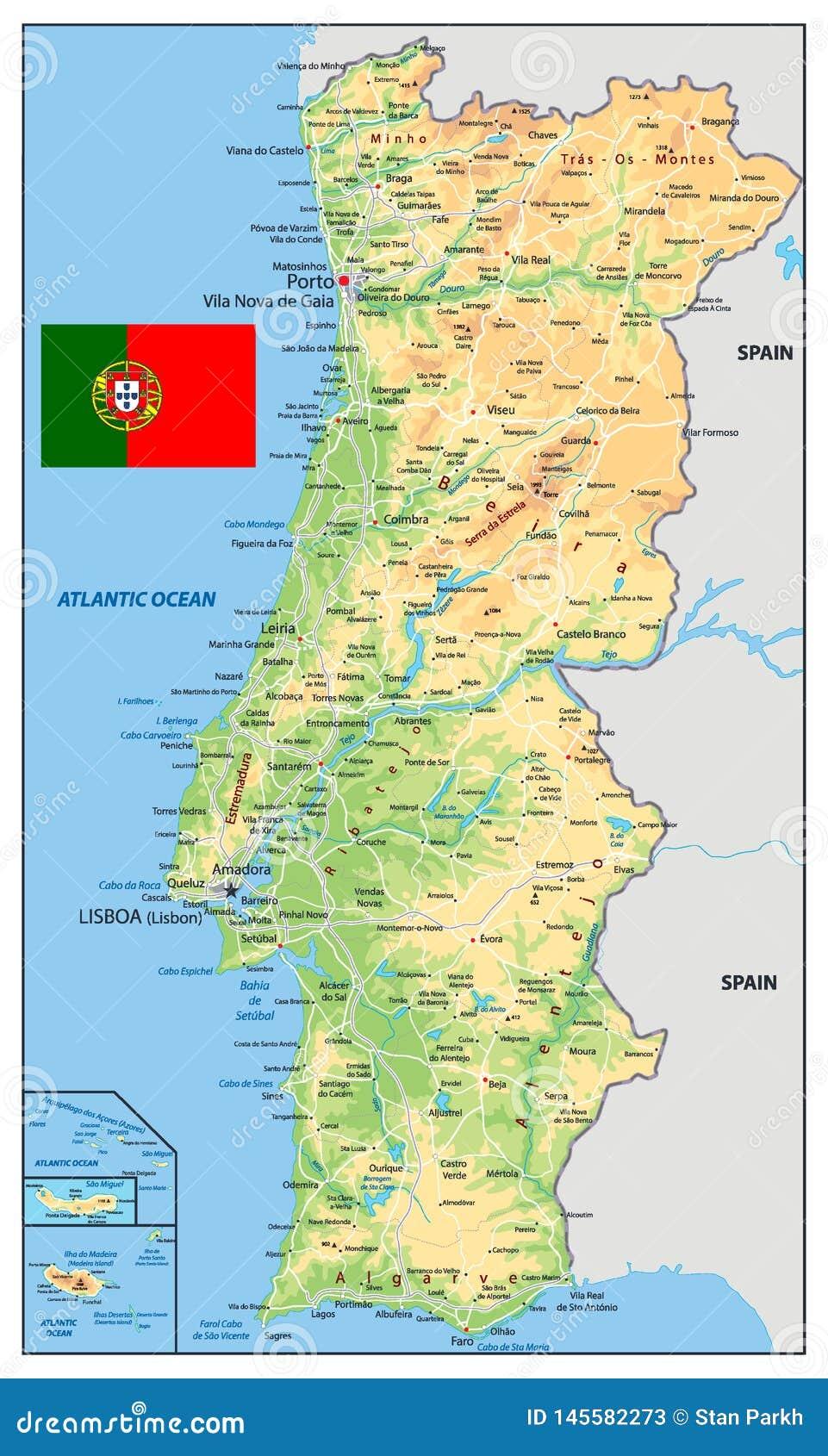Cartina Di Porto Portogallo
