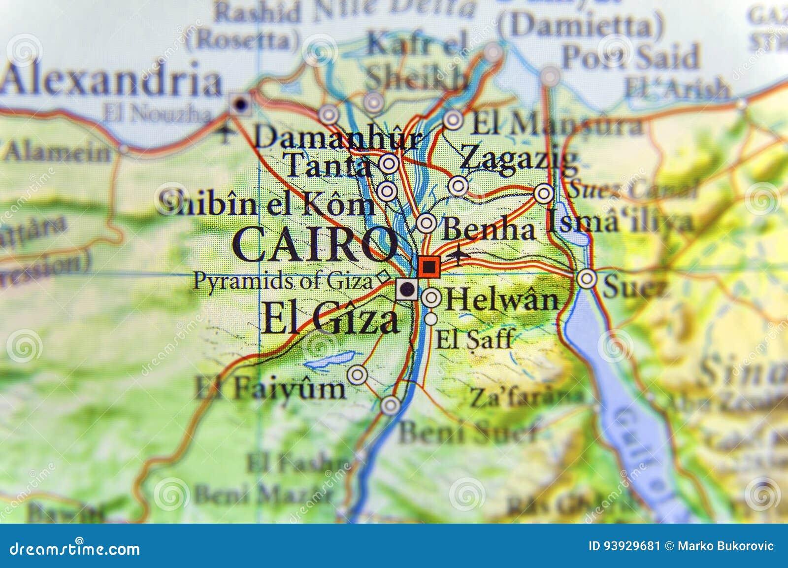 Cartina Egitto In Italiano.Mappa Geografica Dell Egitto Con La Capitale Il Cairo Immagine Stock Immagine Di Globale Pianeta 93929681