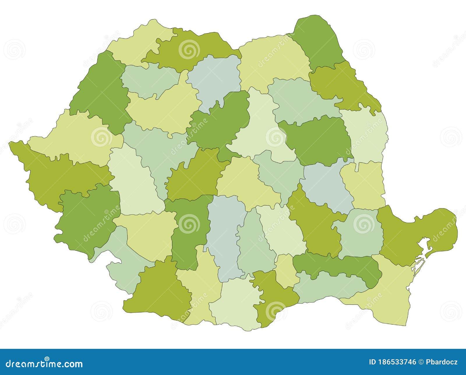 Cartina Dettagliata Romania.Mappa Politica Altamente Dettagliata E Modificabile Con Livelli Separati Romania Illustrazione Vettoriale Illustrazione Di Altamente Bucarest 186533746