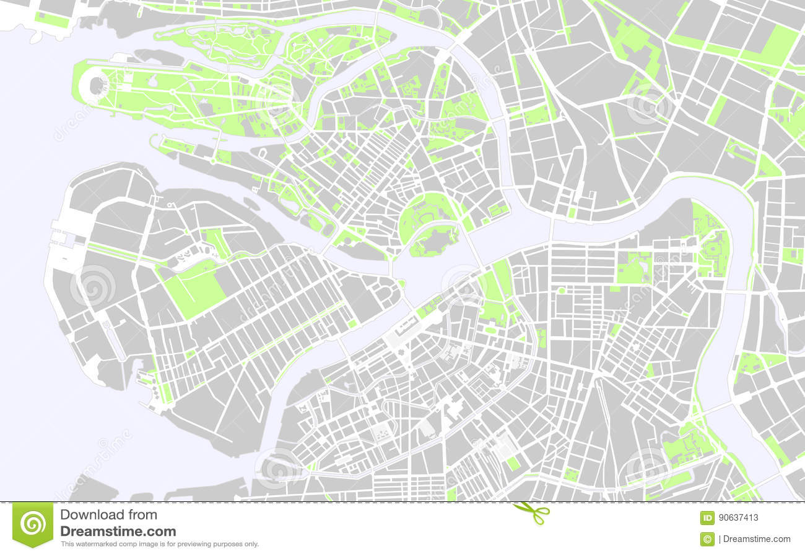 Mappe di San Pietroburgo