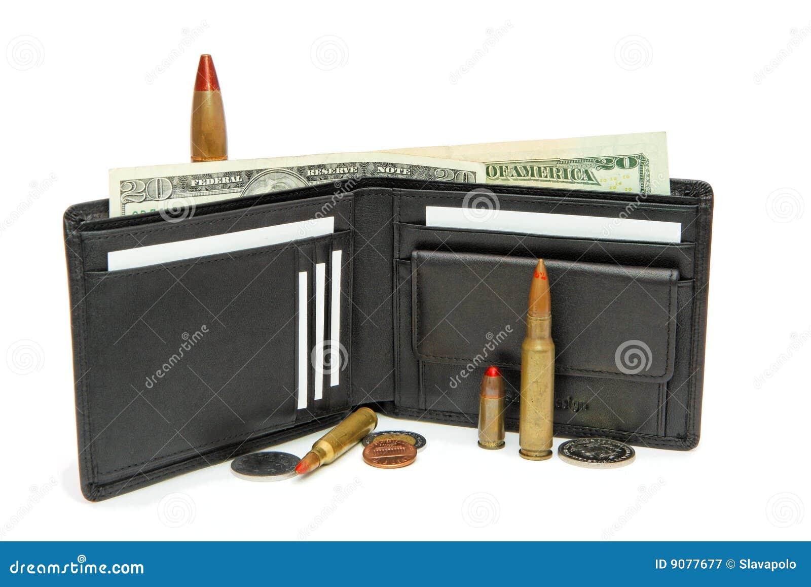 Mappe, Geld und Kassetten getrennt
