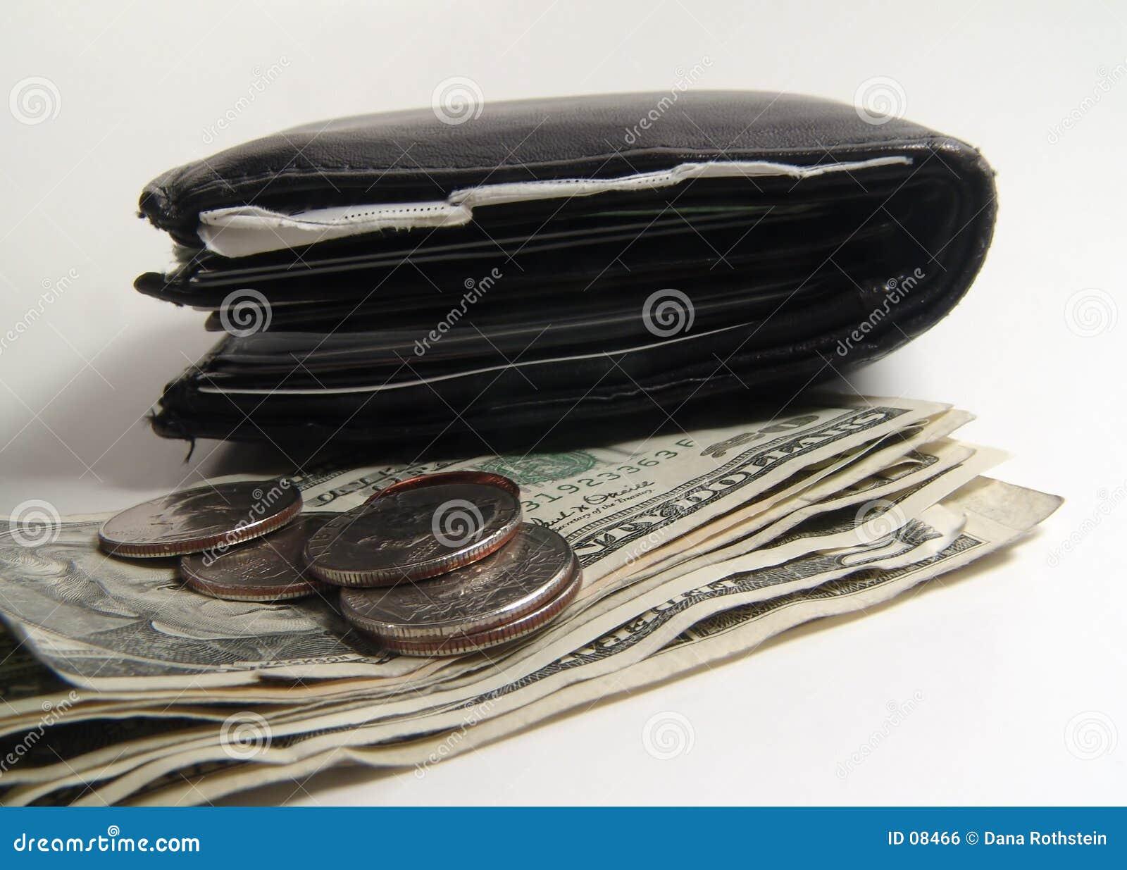 Mappe und Geld
