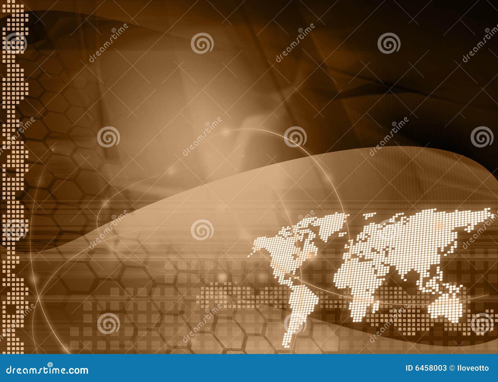 Mapy styl świat technologii
