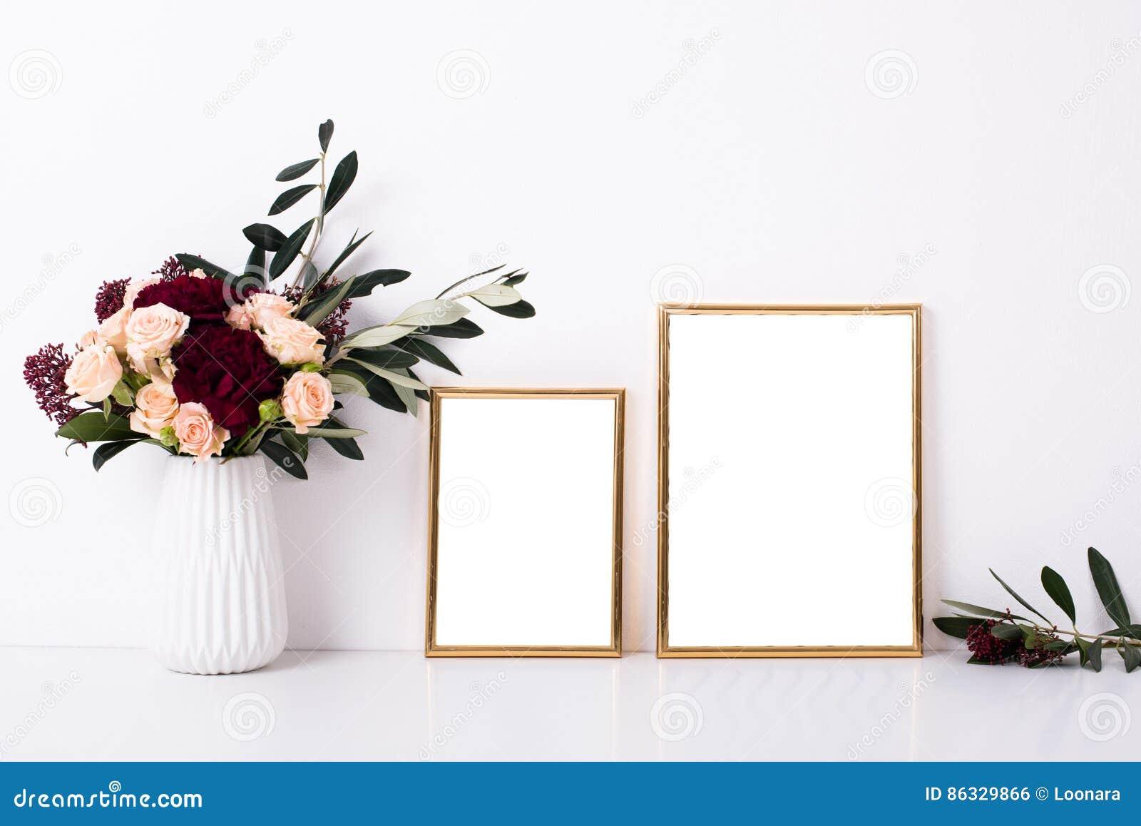Maqueta de oro de dos marcos