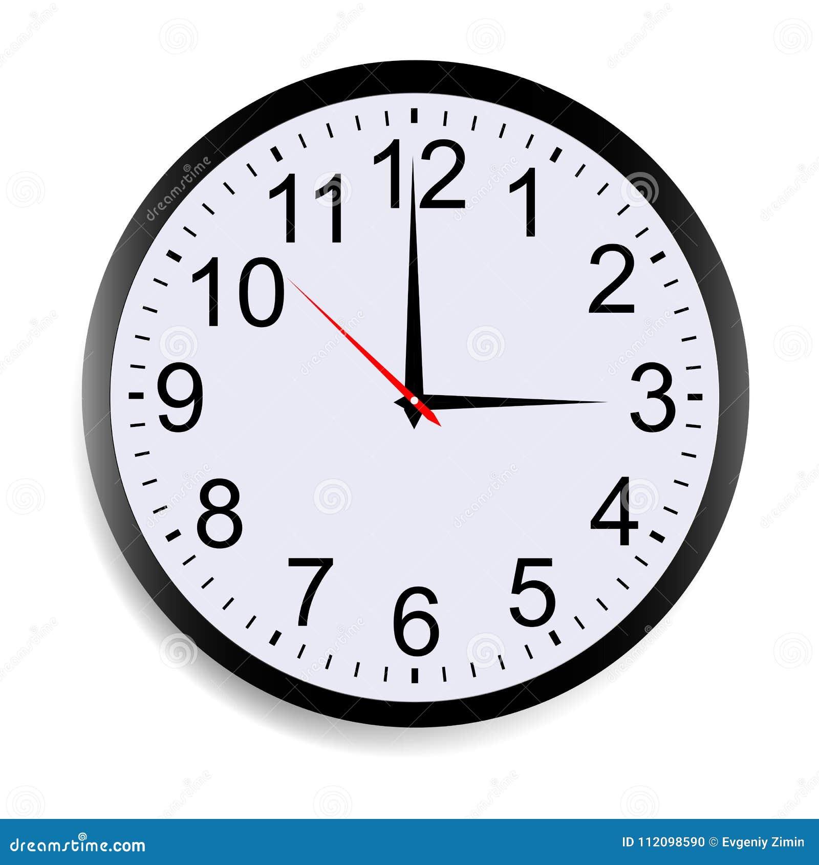 Pared Vector De Maqueta Del Ilustración Aislada Reloj 9eYDHEW2Ib