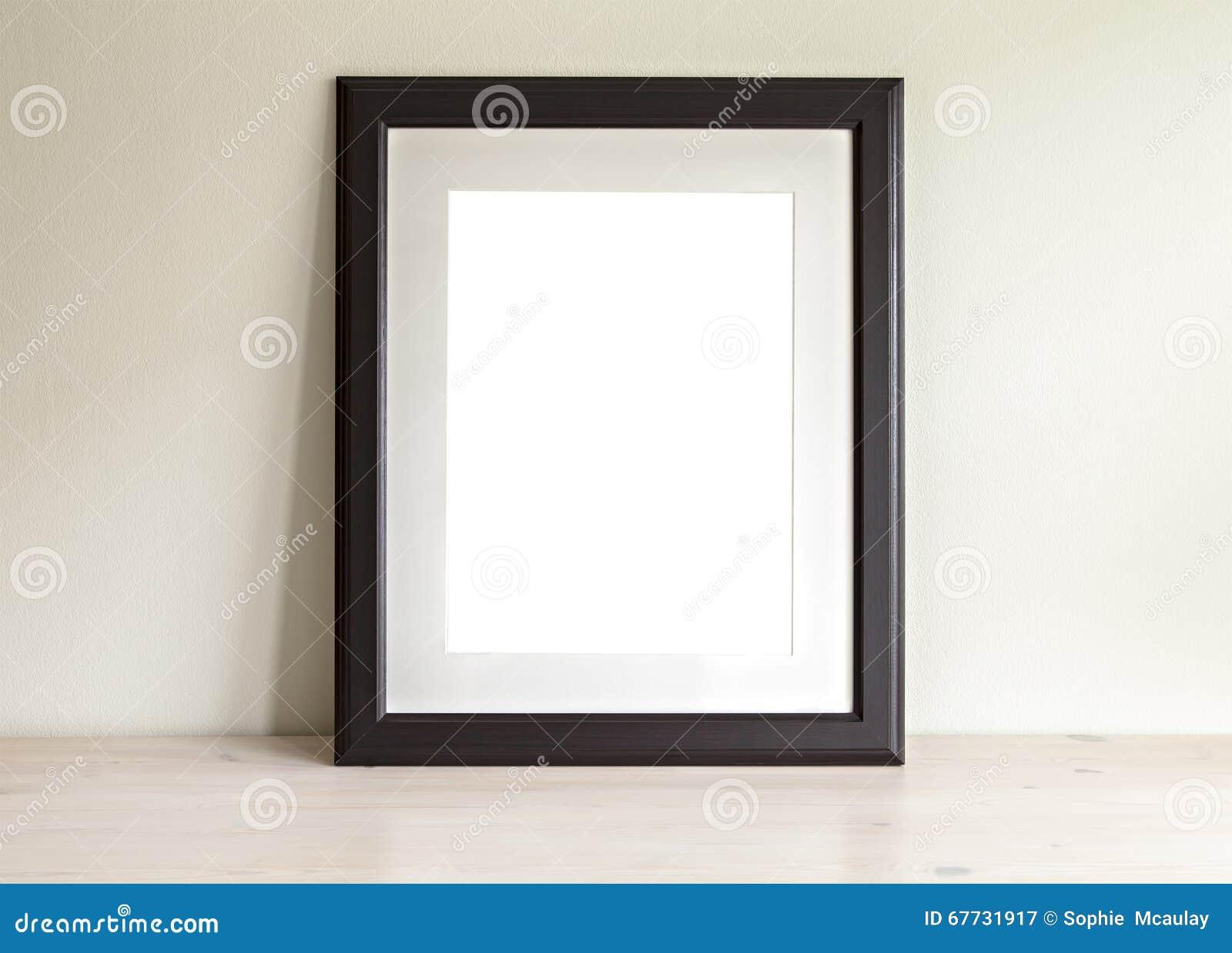 Maquette rectangulaire de cadre