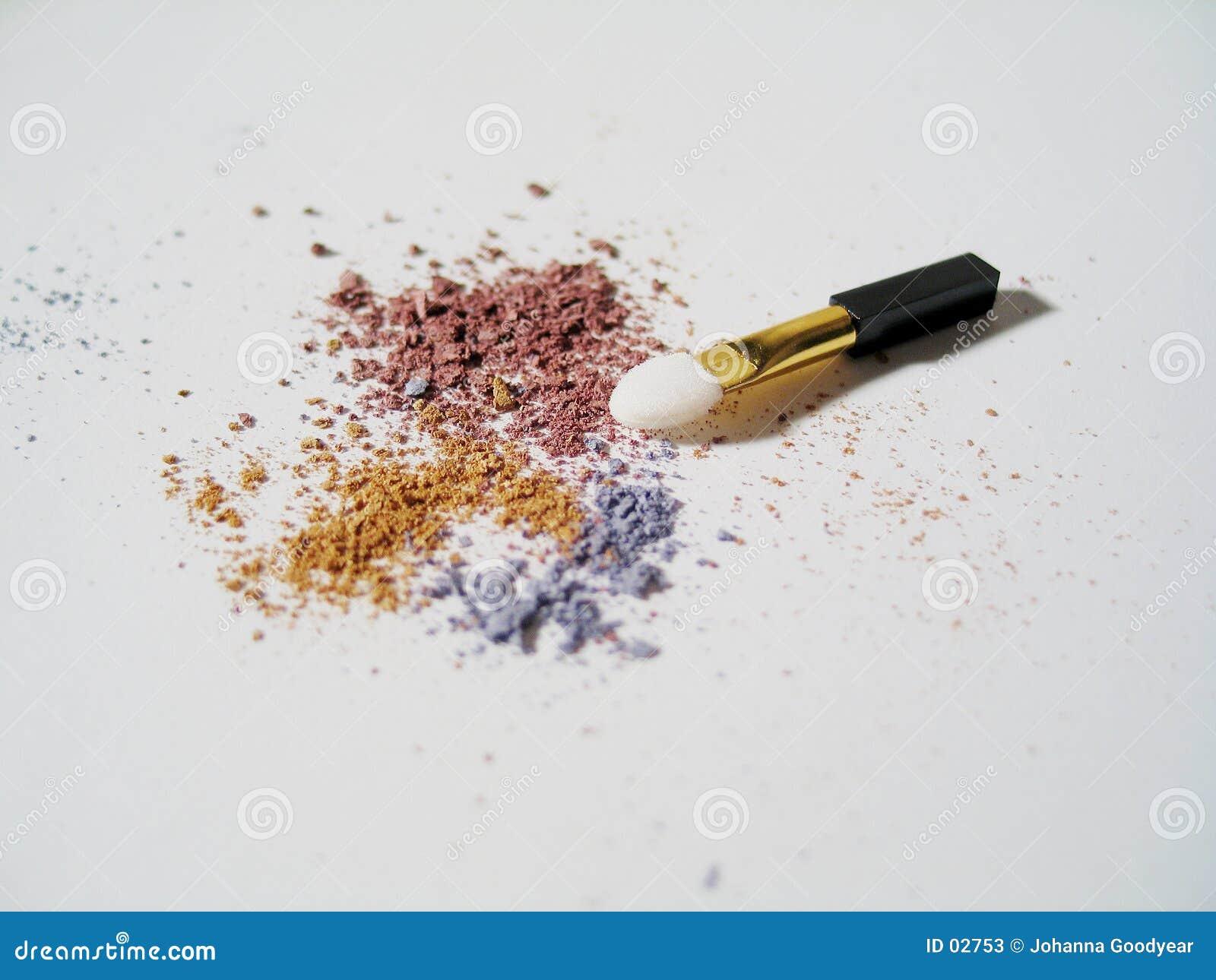 Maquillaje con el cepillo