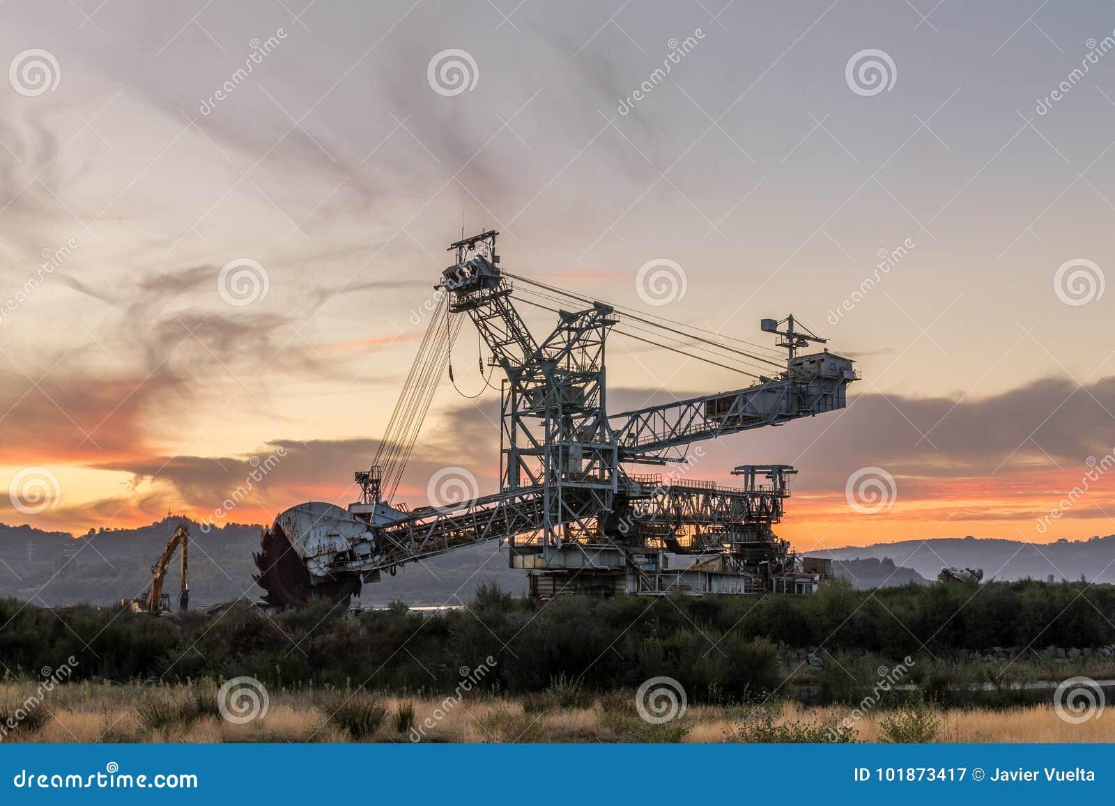 Maquinaria de mineração