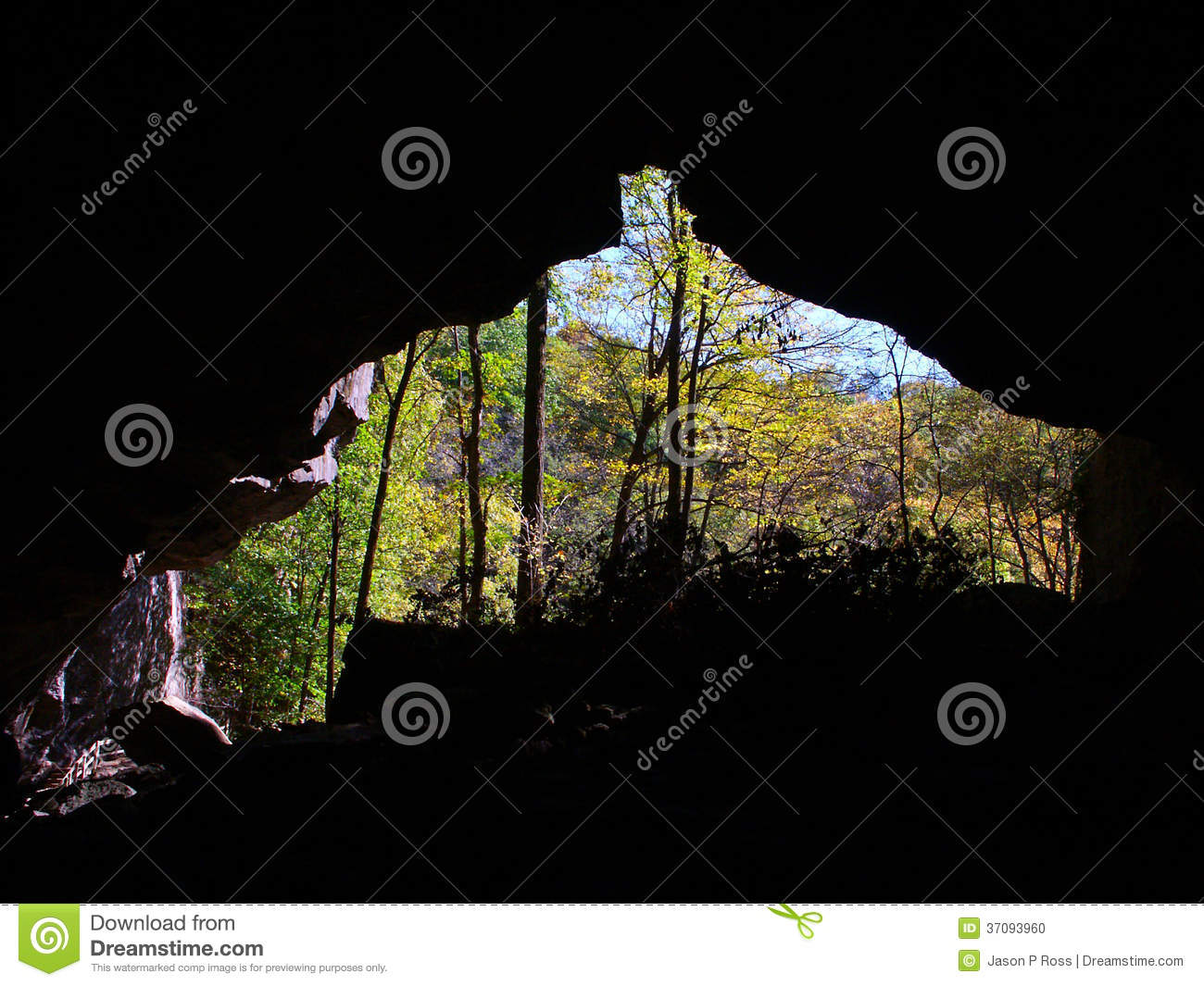 Maquoketa Caves State Park Iowa Stock Photo - Image of ecological ...