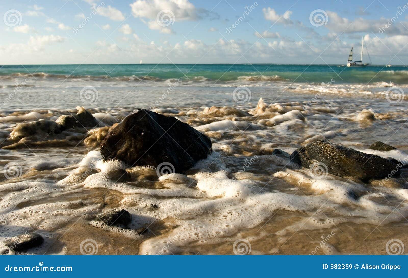 Marée d océan