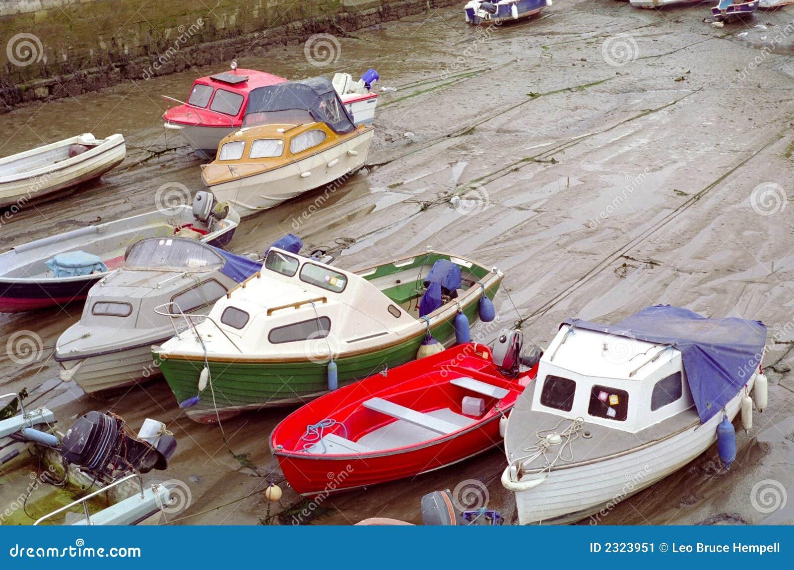 Marée inférieure Dartmouth R-U