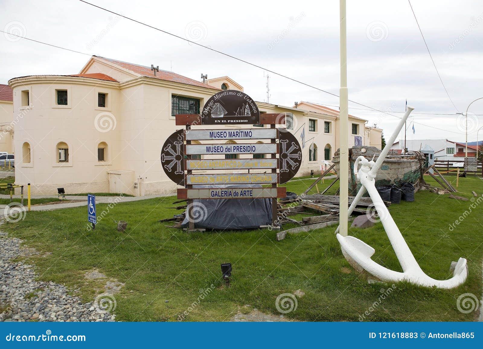 Marítimo, prisión y museo antártico en Ushuaia, la Argentina