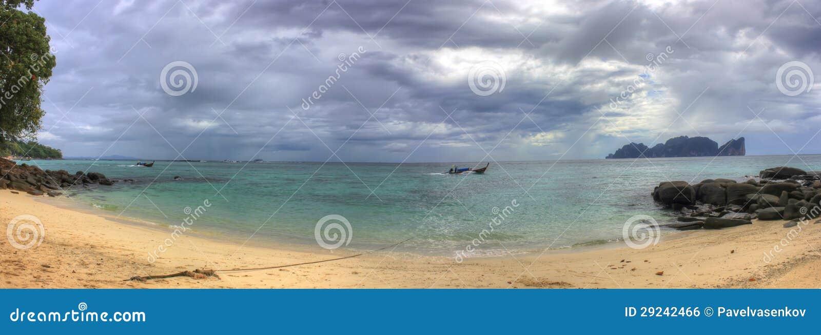 Download Mar De Andaman, Tailândia, Ásia, Ilha Da Phi Da Phi Foto de Stock - Imagem de andaman, console: 29242466