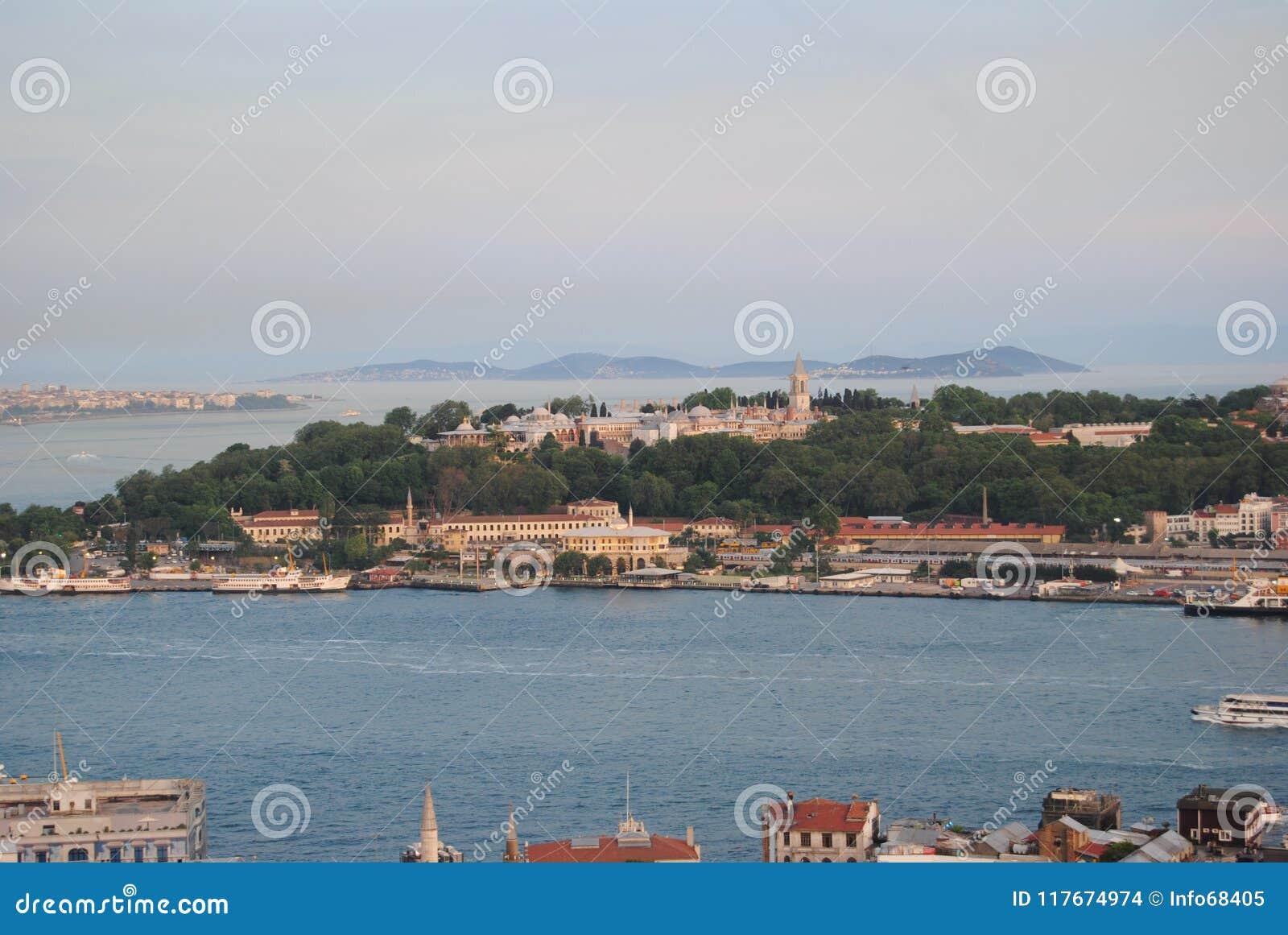 Mar de Mármara del palacio de Topkapı Estambul Turquía