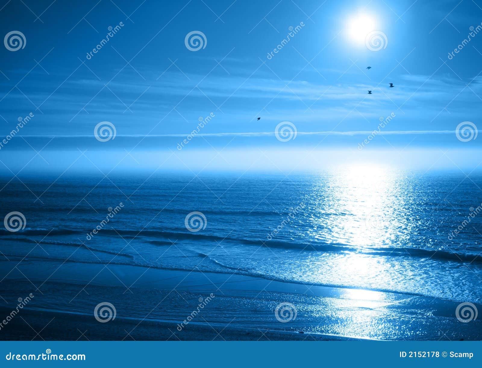 Mar del azul de océano