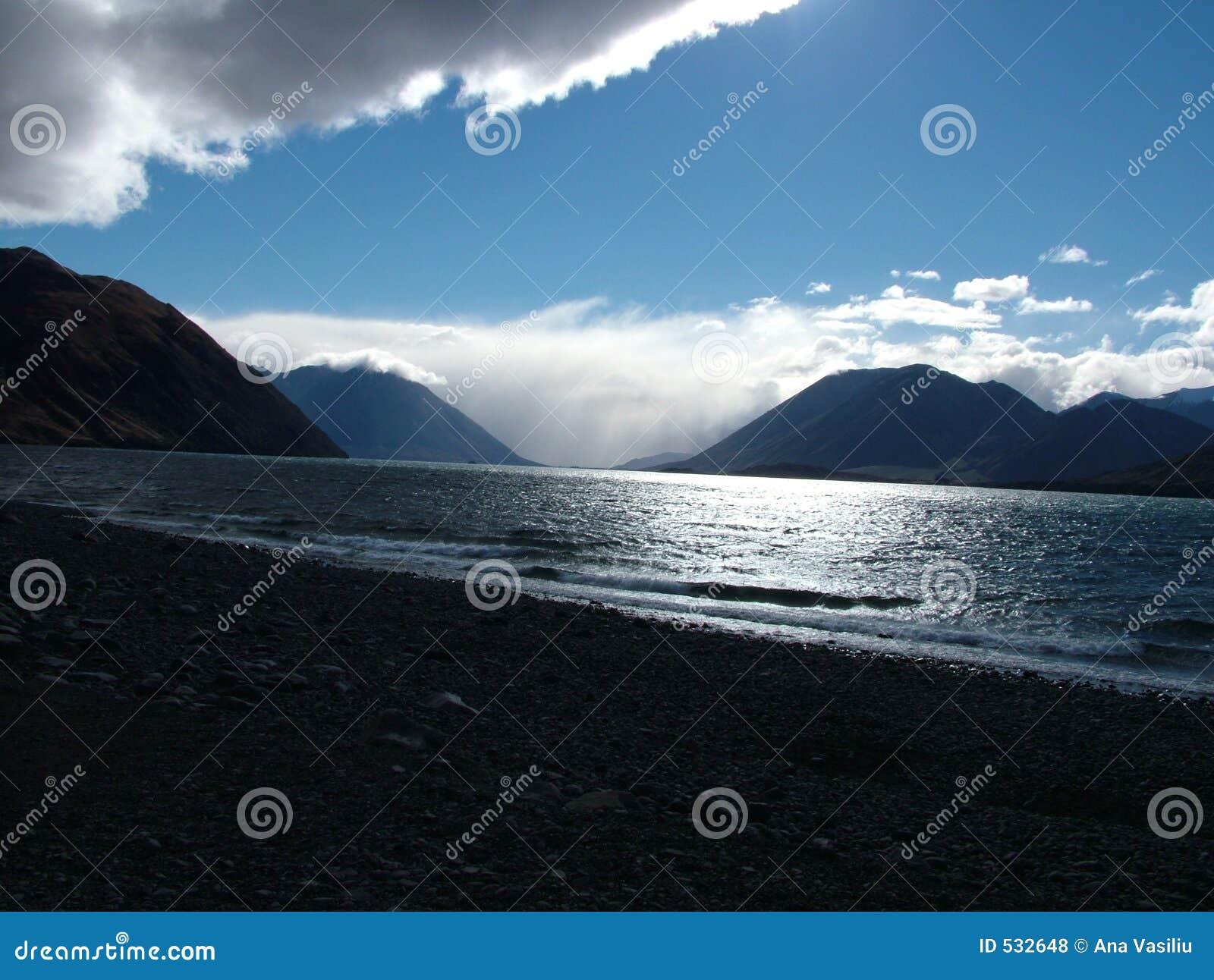 Mar e nuvens