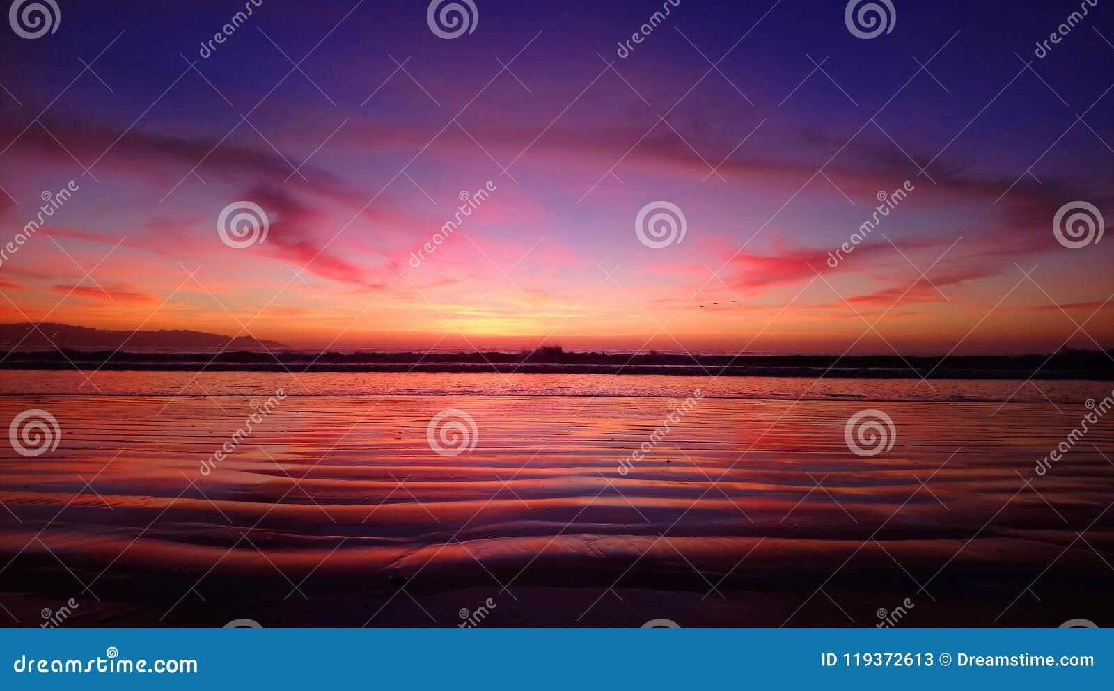 Mar pacífico hermoso de Chile - Suramérica