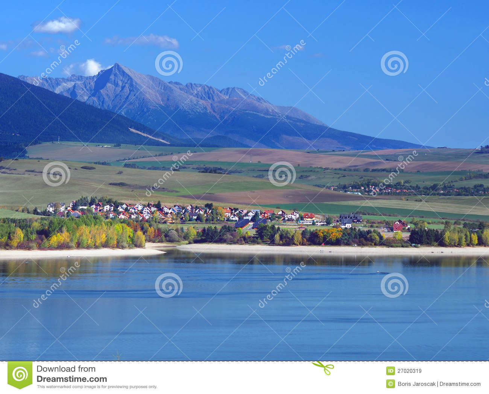 Mara van Liptovska Meer, Liptovsky Trnovec en Krivan