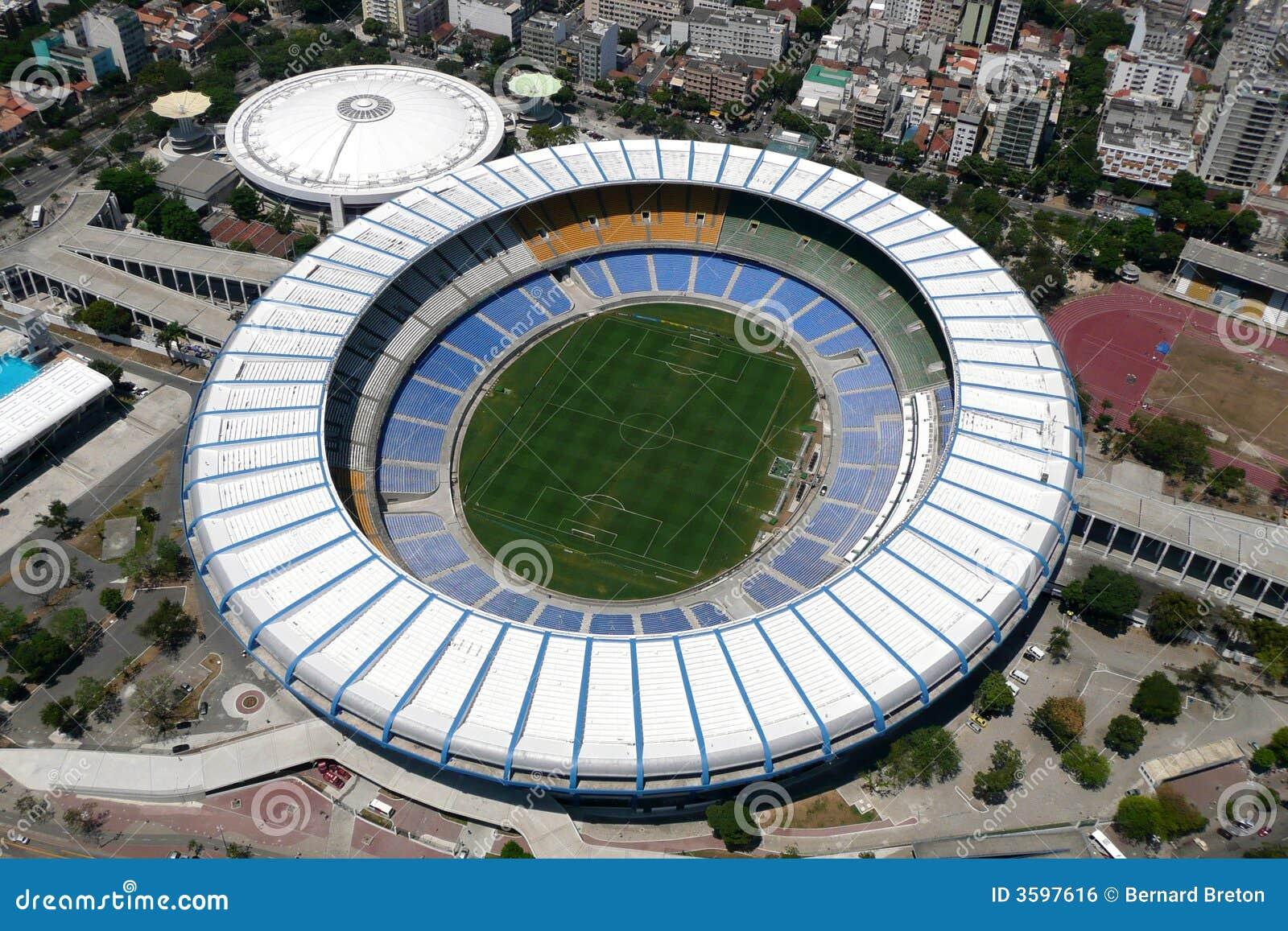 Maracana Rio stadionu janeiro