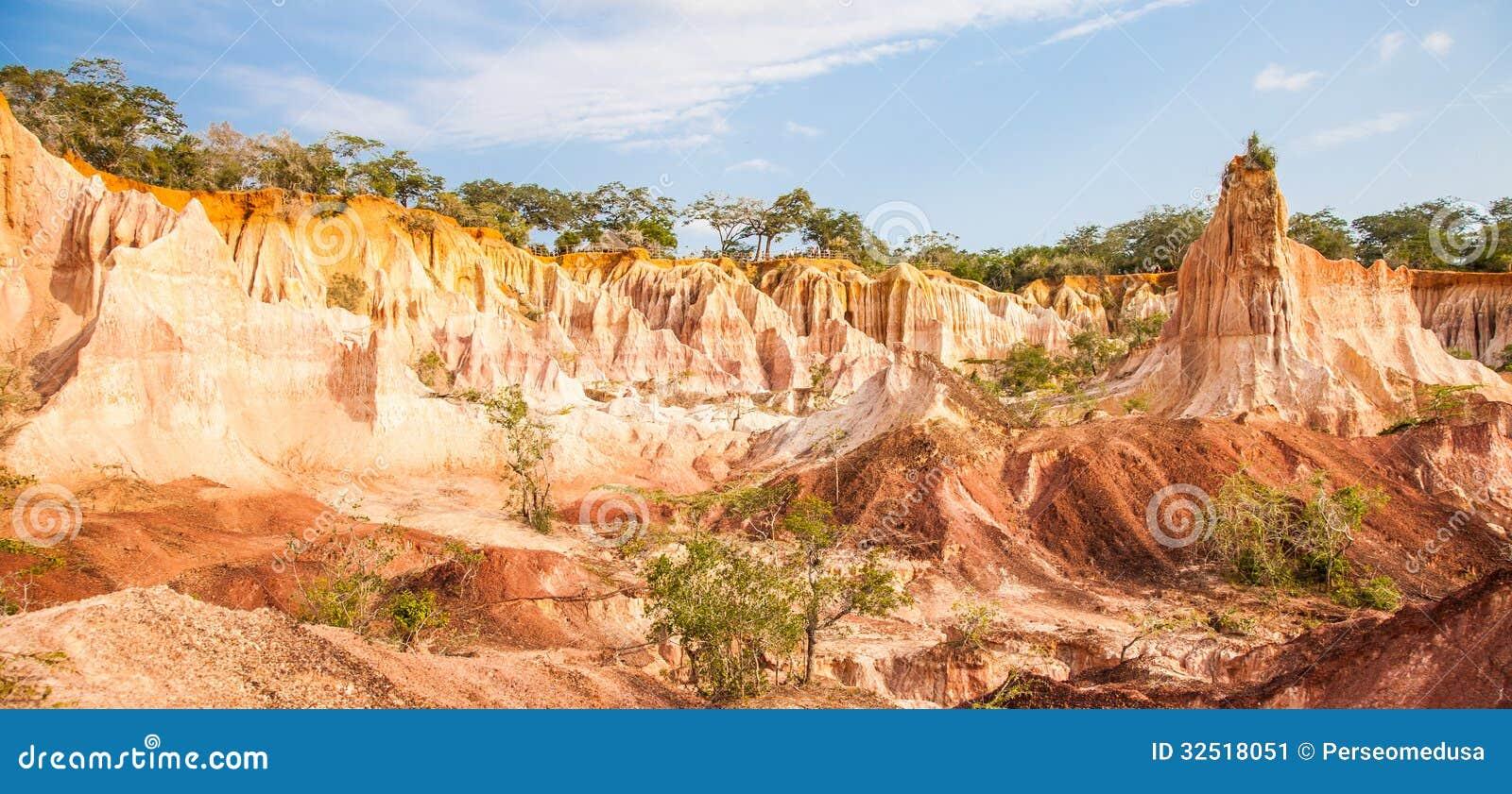 Marafa canyon kenya stock image image 32518051 for Kitchen in the canyon