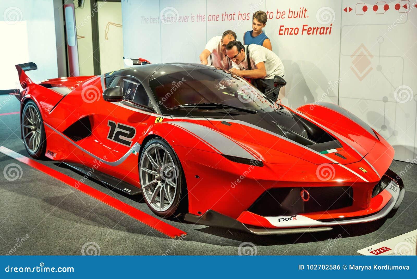 Maranello Italy A July 26 2017 Exhibition In The Famous Ferrari