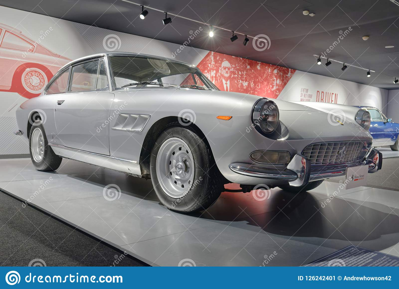 Maranello Italy Ferrari Vintage Sports Car Editorial Photo Image Of Chrome Architecture 126242401