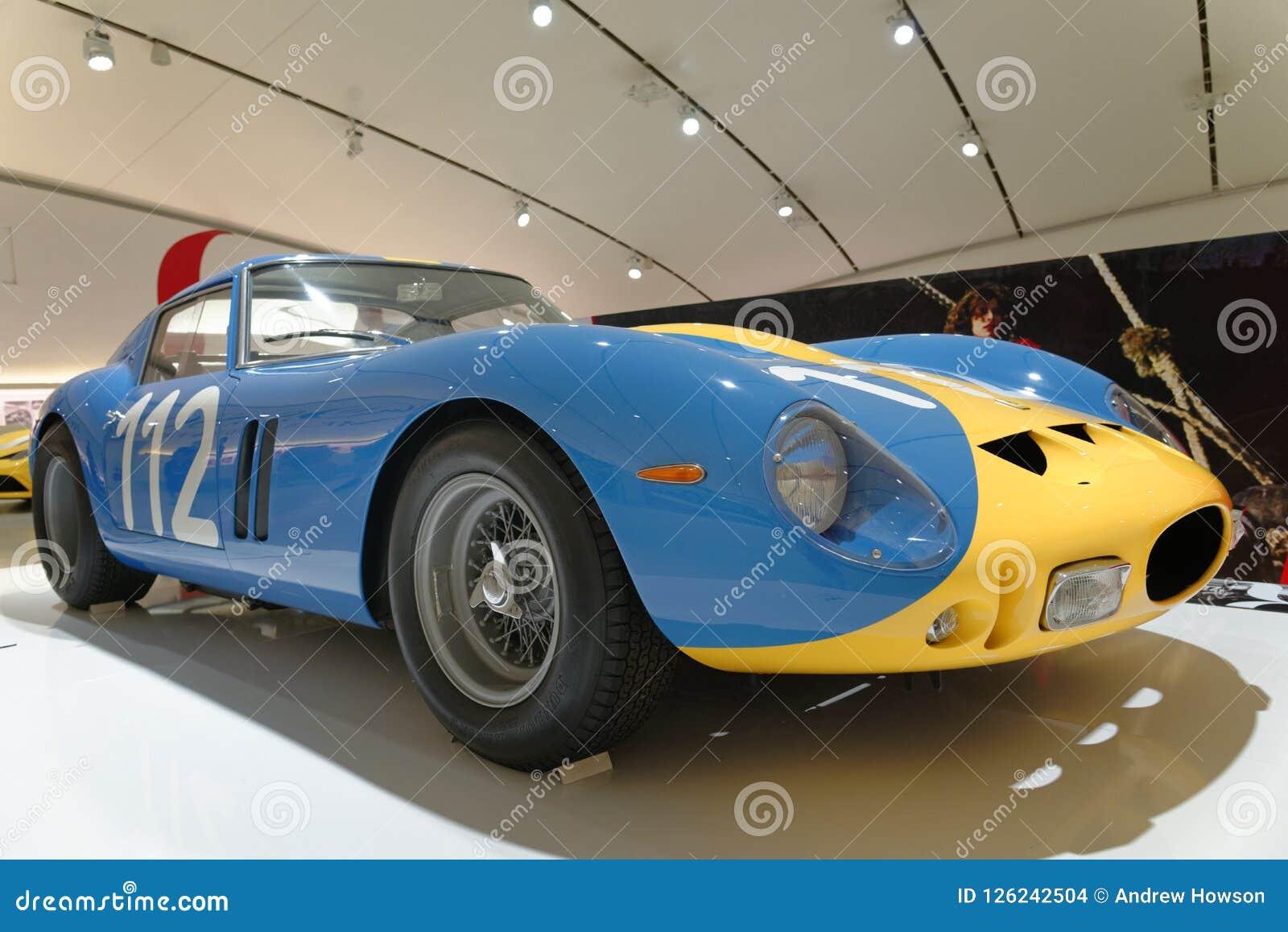 Maranello Italy Ferrari Vintage Sports Car Editorial Stock Image Image Of Architecture Antique 126242504