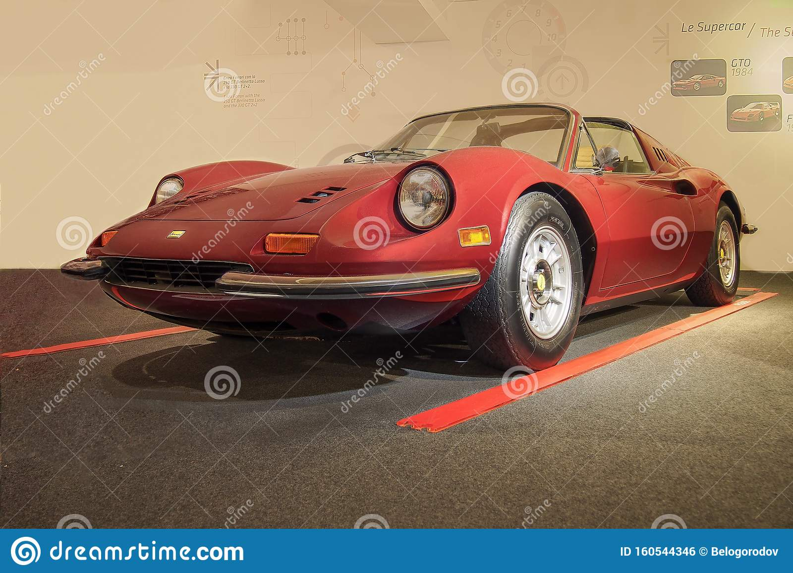 1972 Ferrari Dino 246 Gts Editorial Photo Image Of Automobile 160544346