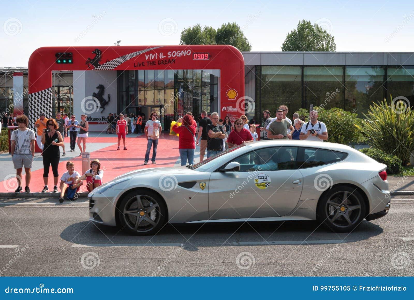 Circuito Modena : Maranello modena italia settembre 2017 anniversario del ` s
