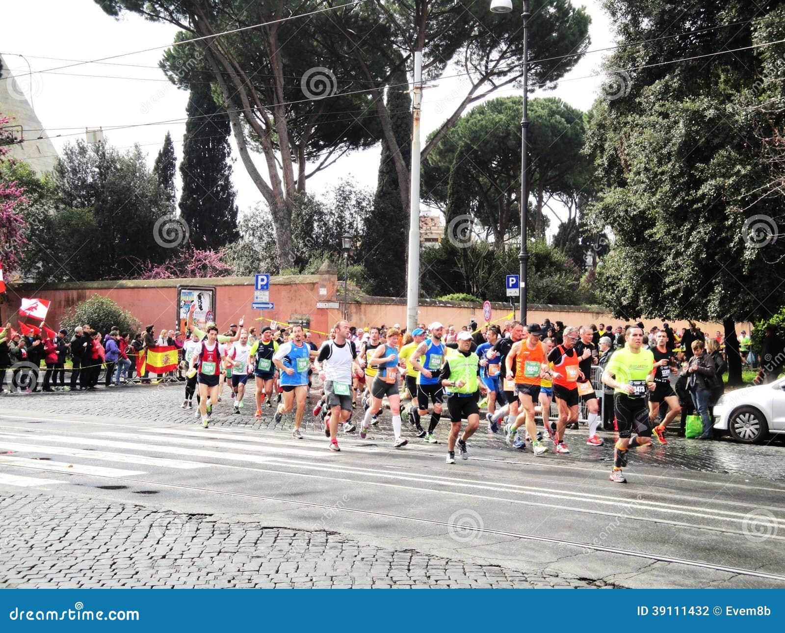 Mararathon van Rome, Maart 2014, 11de km