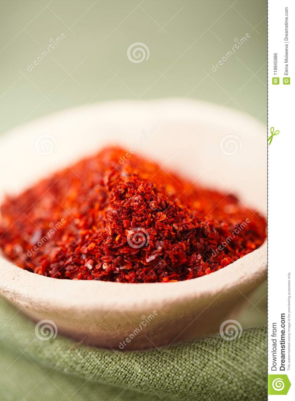 Marash Chili flakes stock photo  Image of aleppo, food