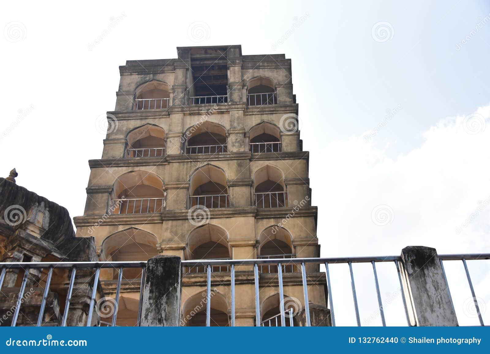 Maratha Palace, Thanjavur, Tamil Nadu Stock Photo - Image of