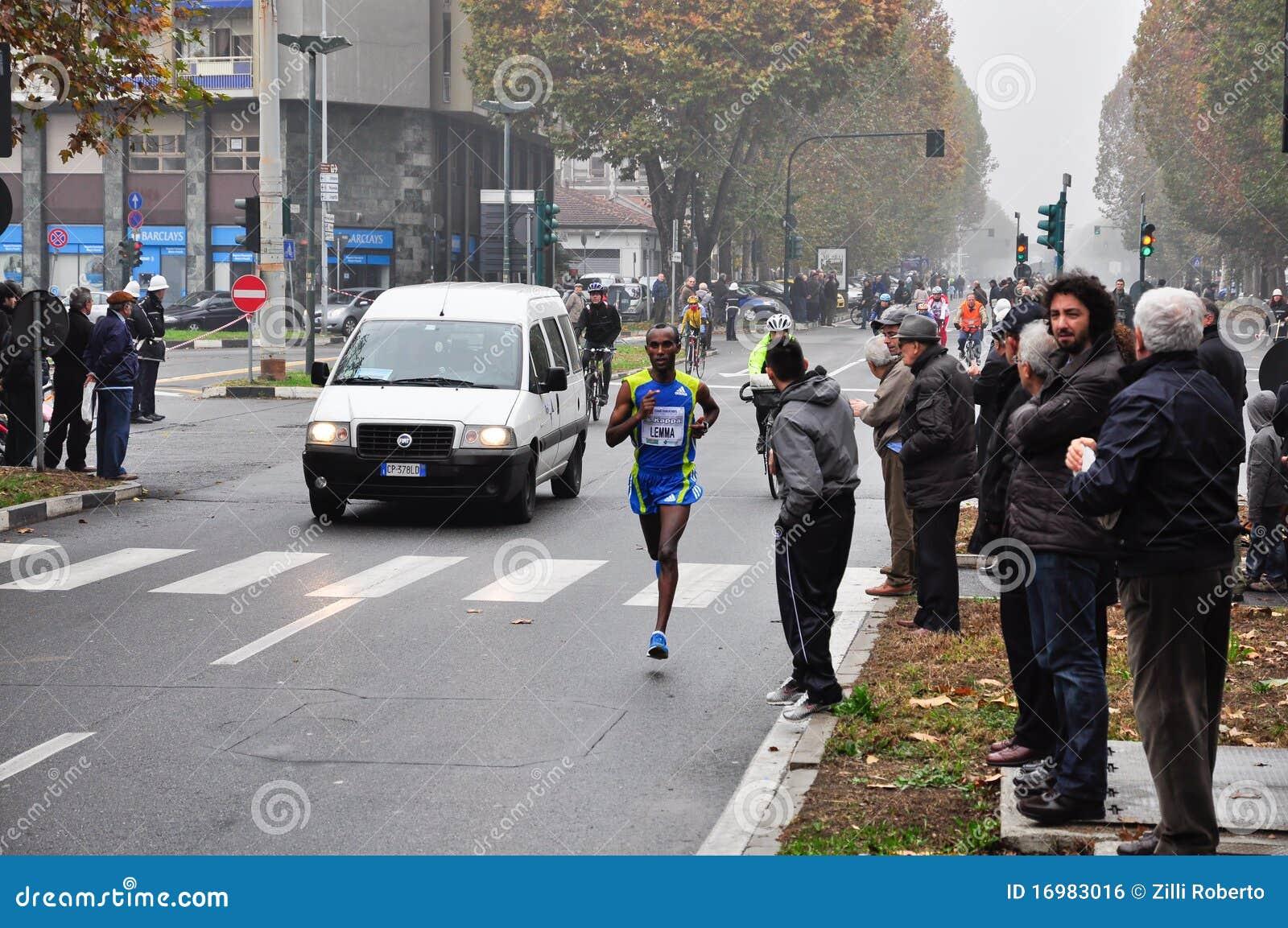 Marathon 2010, lemme Habteselassie, Ethiopie de Turin