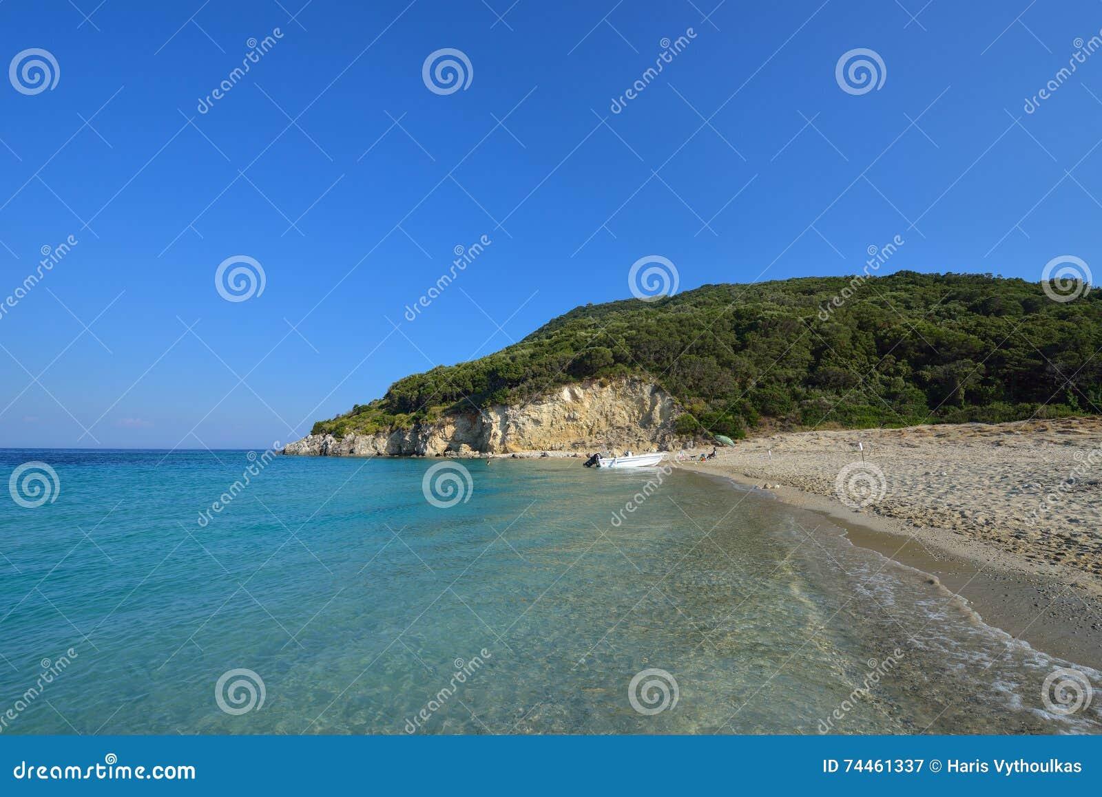 Marathonisi the turtle island , Zakynthos