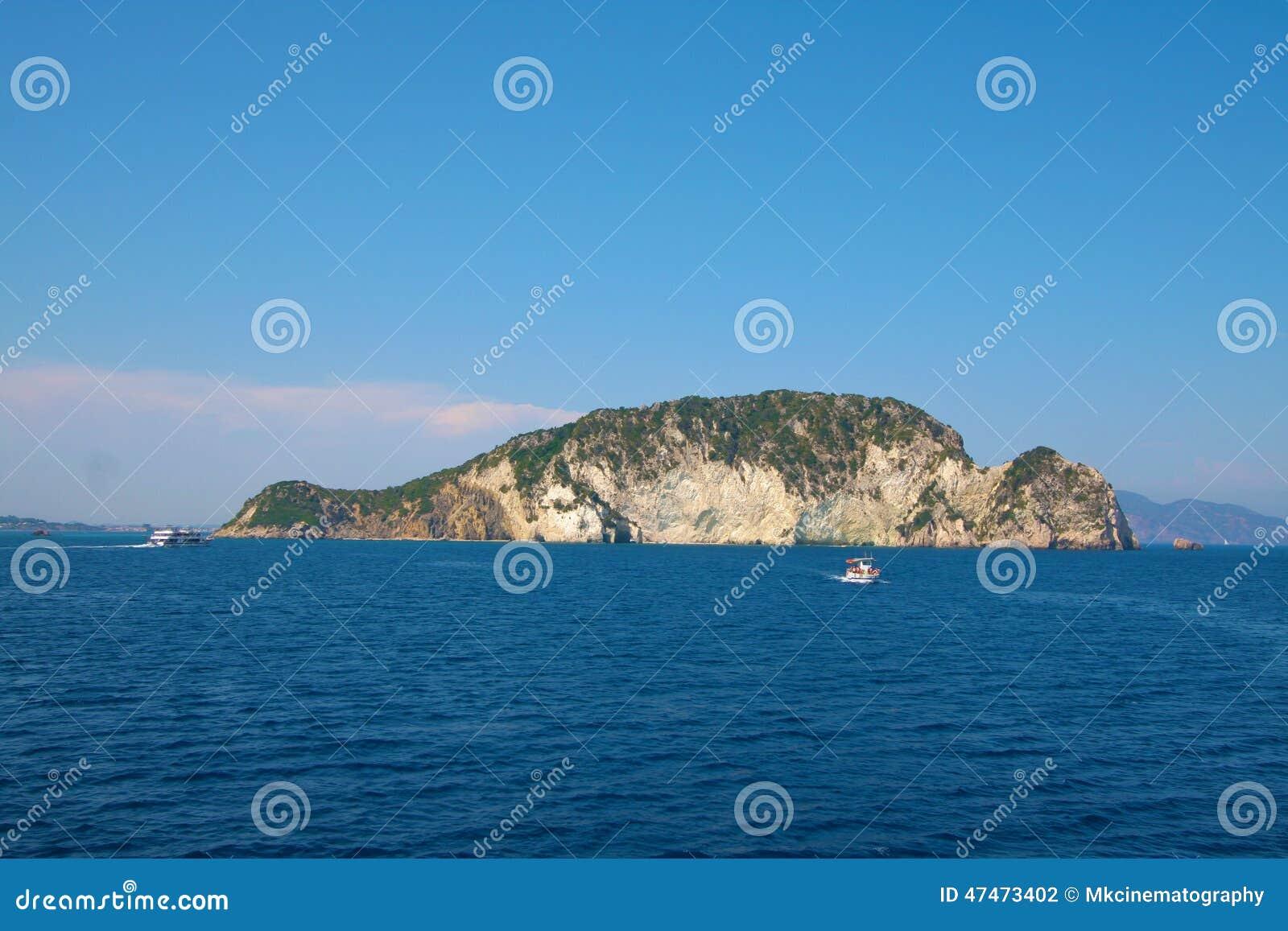 Marathonisi a turtle Island -Zakynthos