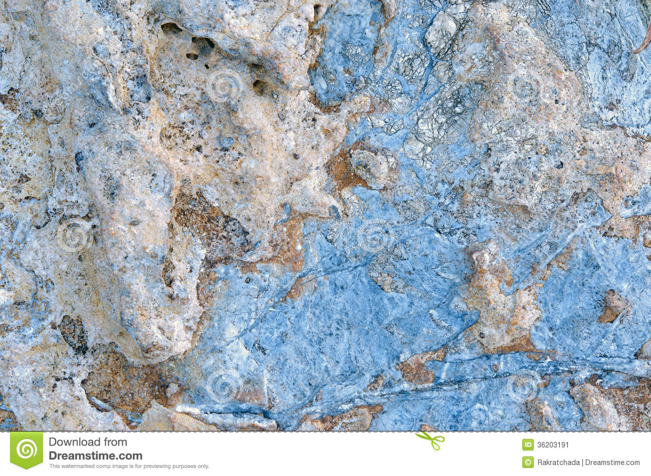 Blue stone texture, color wall marble background.