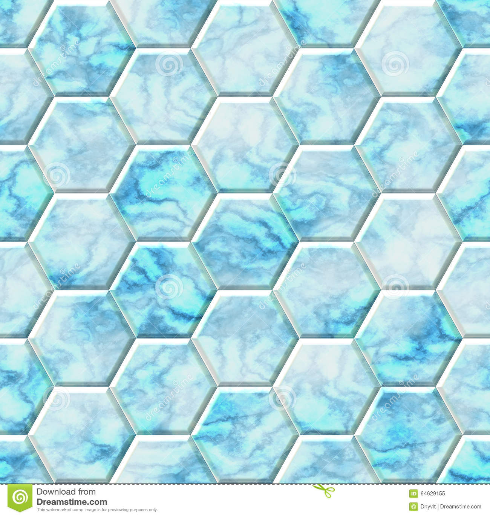 marble - blue  white