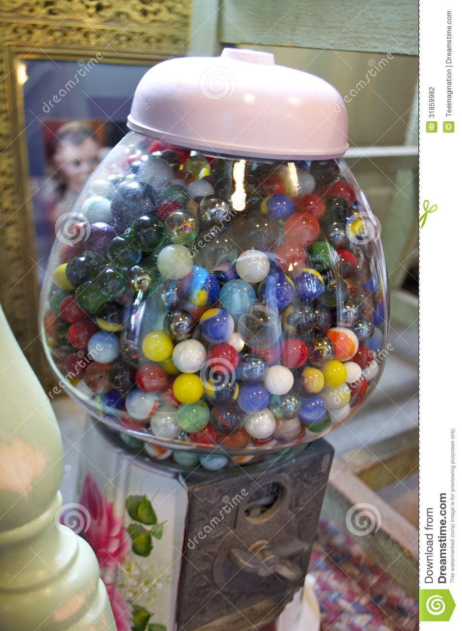 Antique Marble Bubble Gum Stock Photography Image 31859982